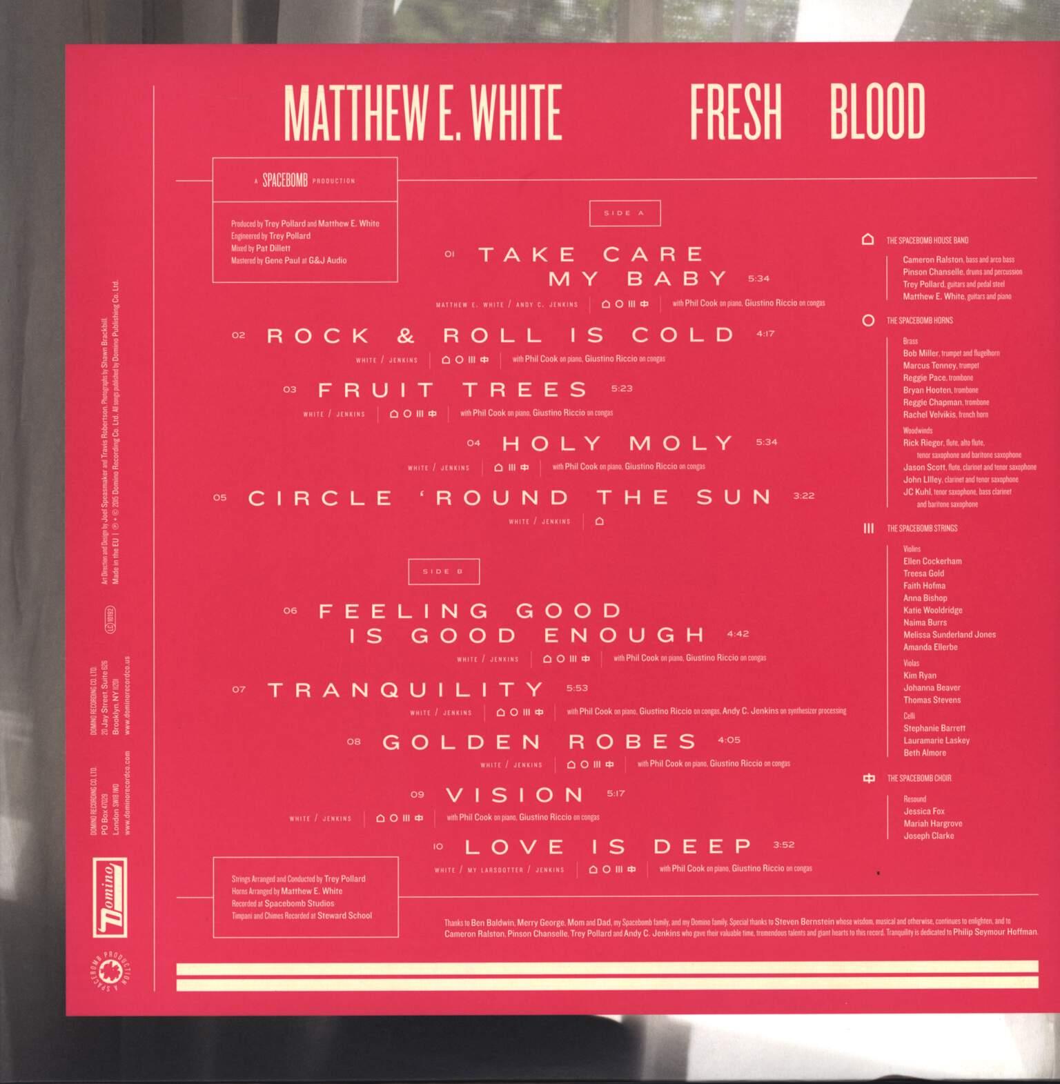 Matthew E. White: Fresh Blood, LP (Vinyl)