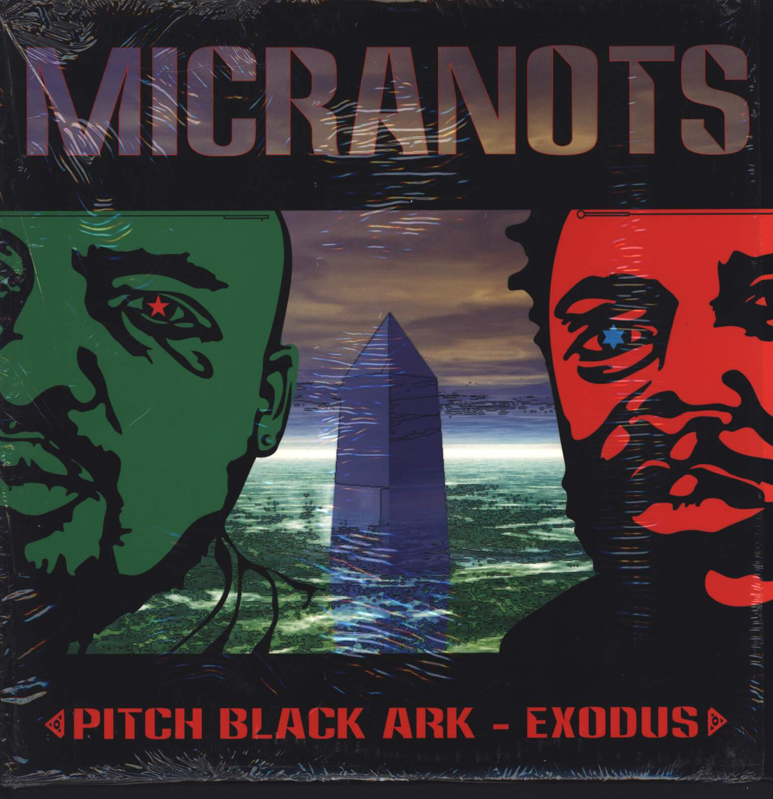 "Micranots: Pitch Black Ark / Exodus, 12"" Maxi Single (Vinyl)"