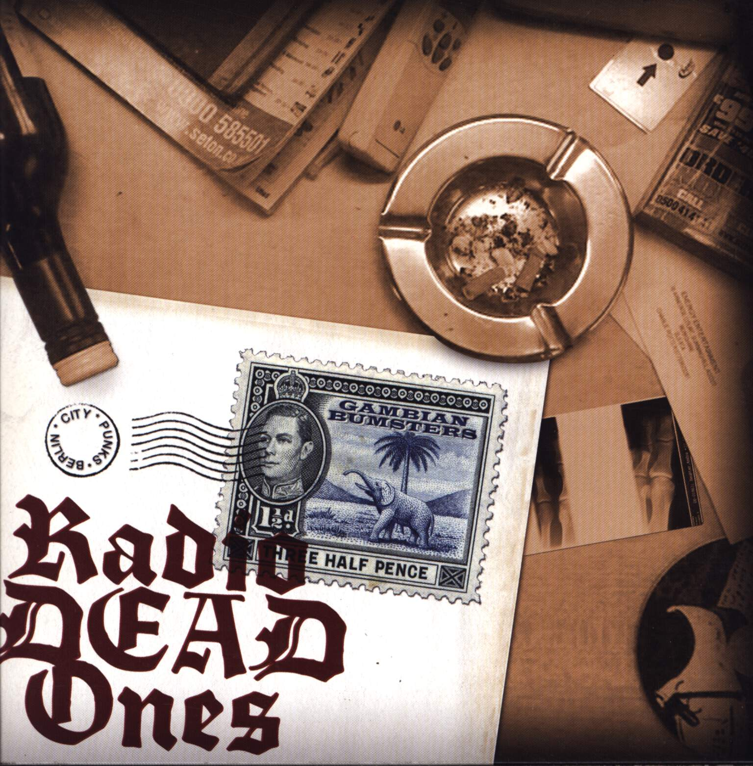"Radio Dead Ones: Gambian Bumsters, 7"" Single (Vinyl)"