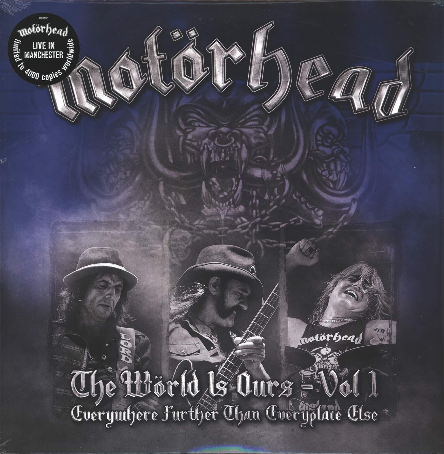 Motörhead: The Wörld Is Ours – Vol 1 – Everywhere Further Than Everyplace Else, LP (Vinyl)