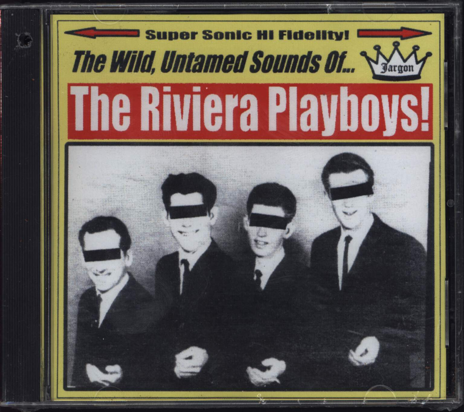 The Riviera Playboys: The Wild, Untamed Sounds Of... The Riviera Playboys, 1×CD