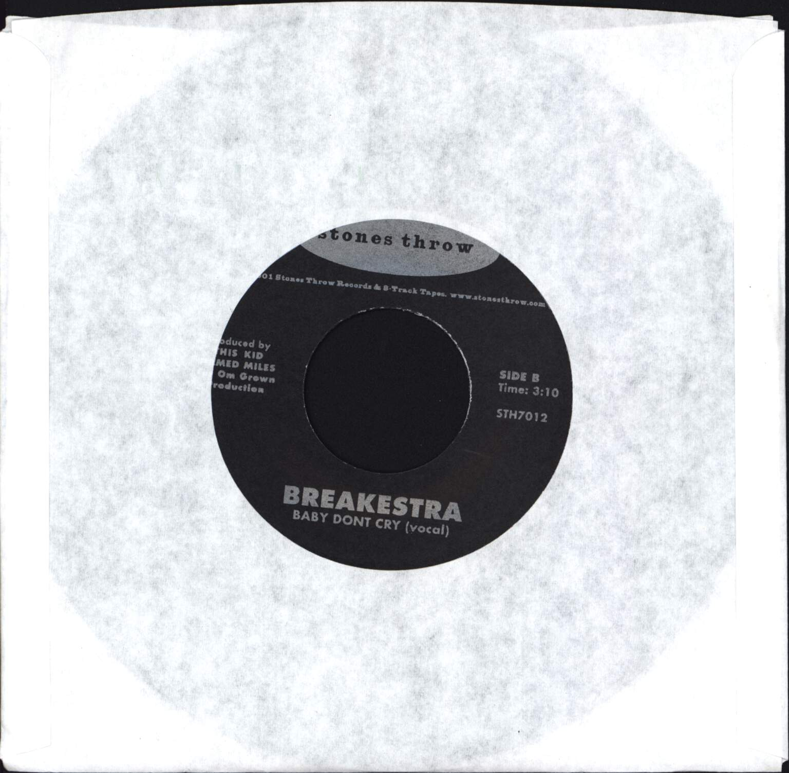"Breakestra: Cramp Your Style, 7"" Single (Vinyl)"