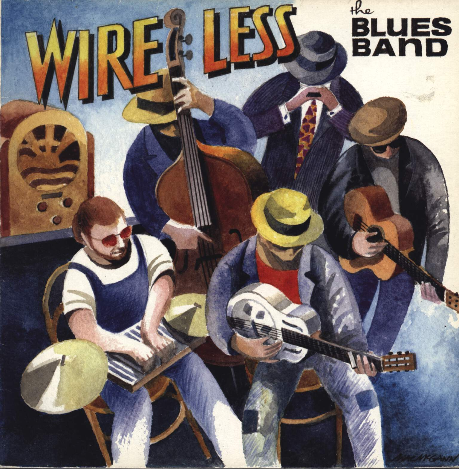 The Blues Band: Wire Less, LP (Vinyl)