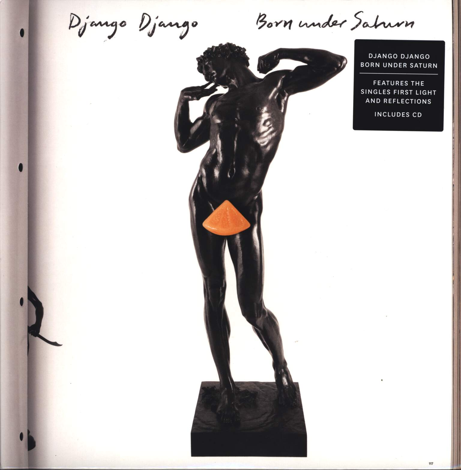Django Django: Born Under Saturn, LP (Vinyl)
