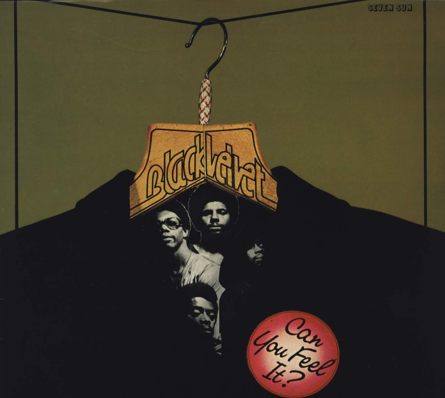 Black Velvet: Can You Feel It?, LP (Vinyl)