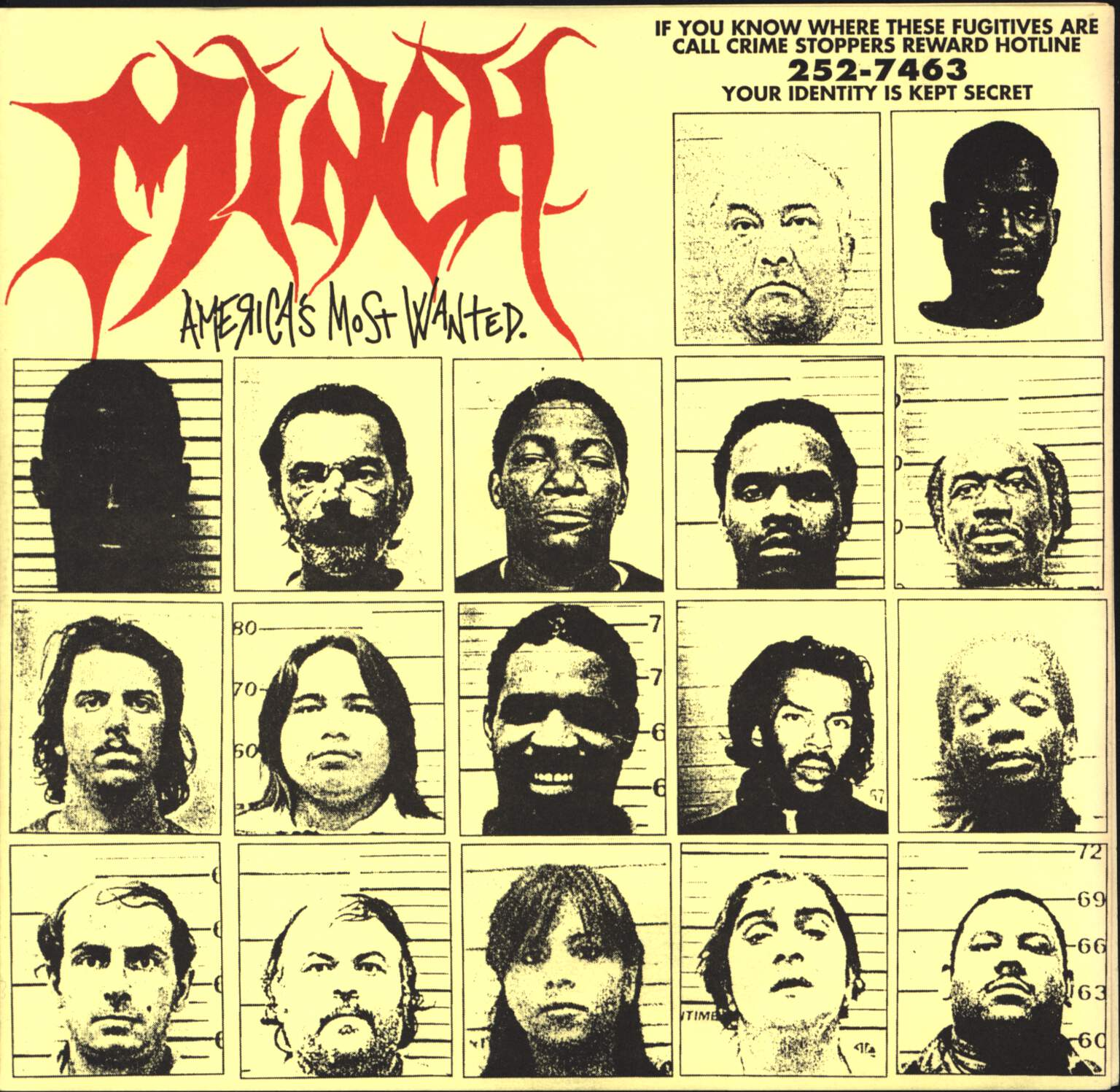 "Minch: America's Most Wanted, 7"" Single (Vinyl)"