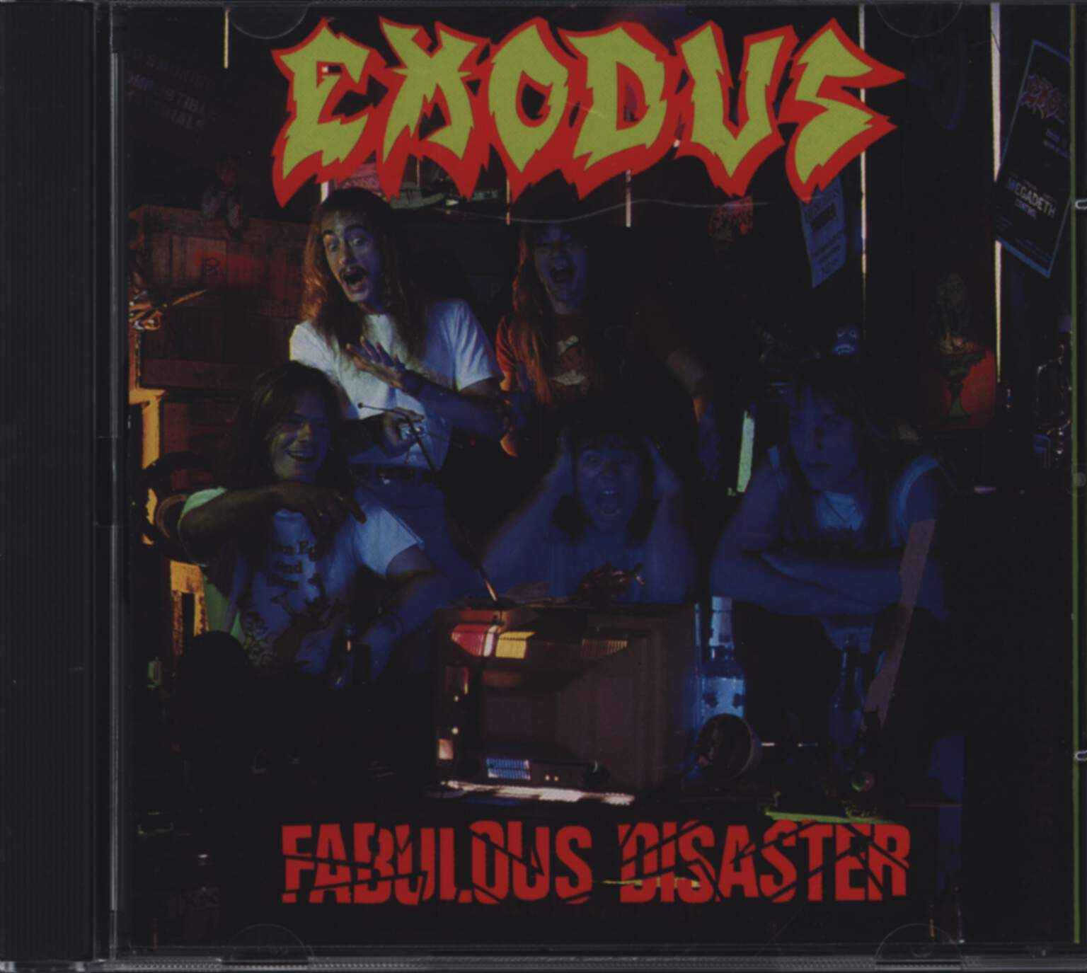 Exodus: Fabulous Disaster, CD