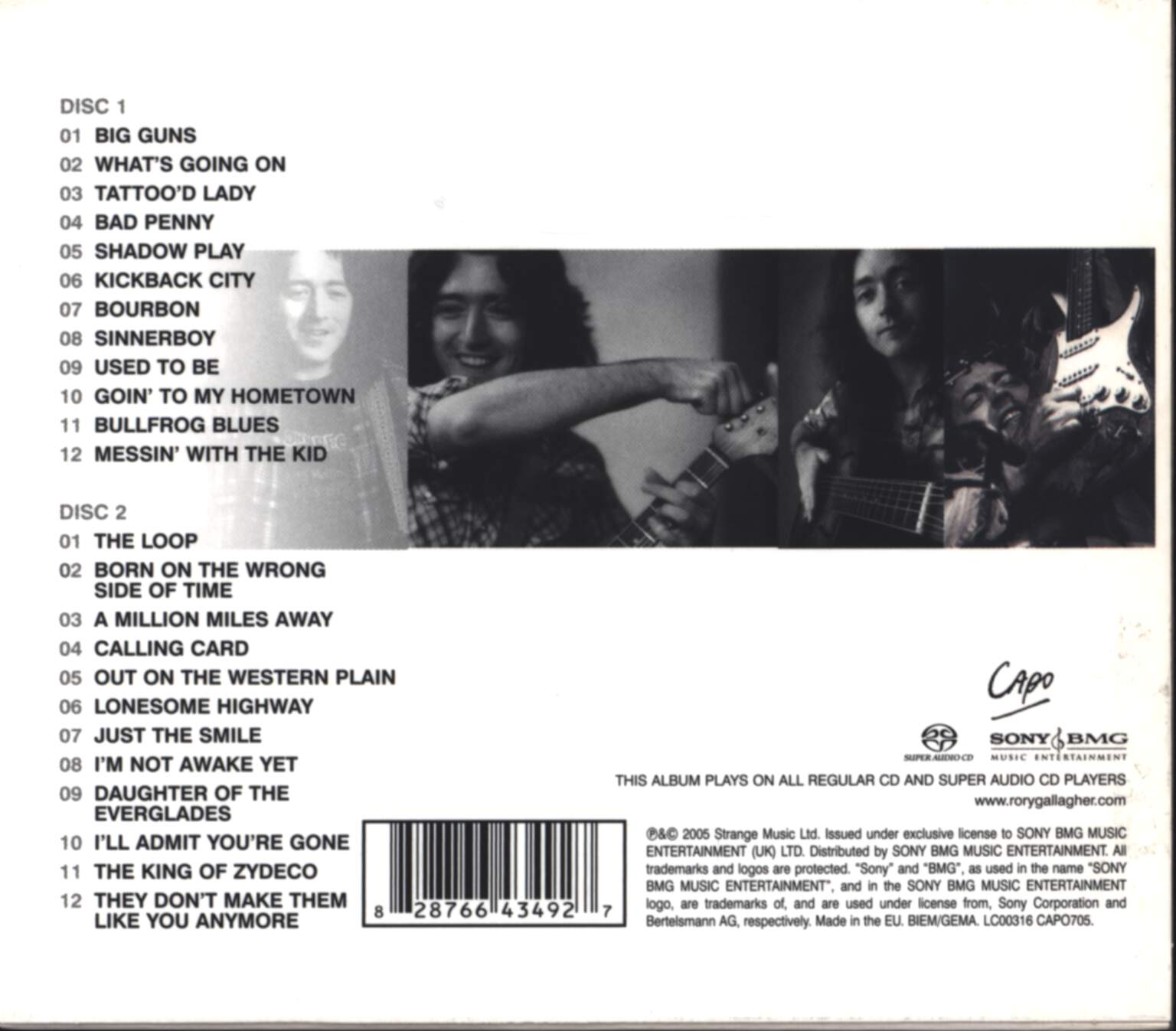 Rory Gallagher: Big Guns - The Very Best Of Rory Gallagher, CD