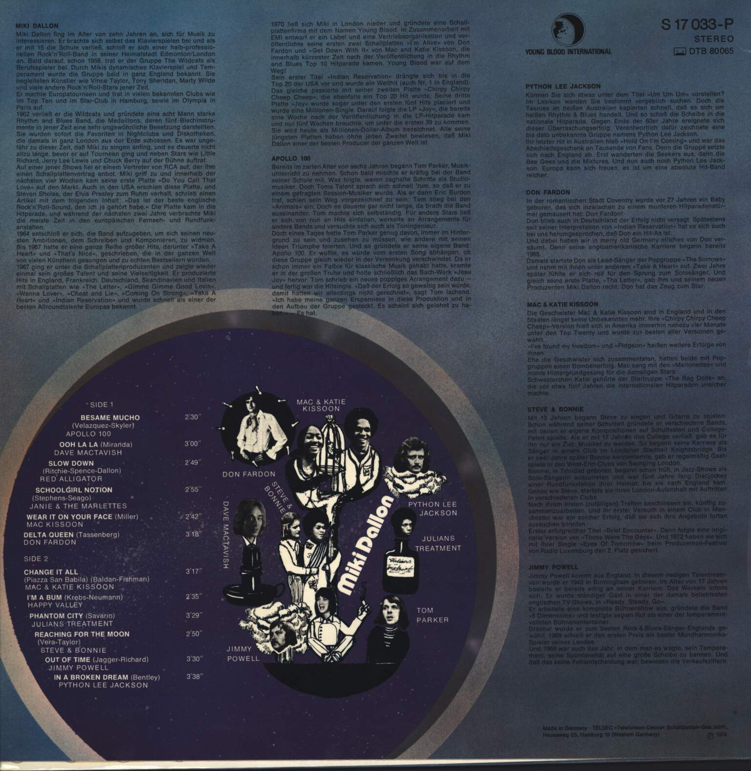 "Various: ""It's All On This Together"" The Youngblood Family, LP (Vinyl)"