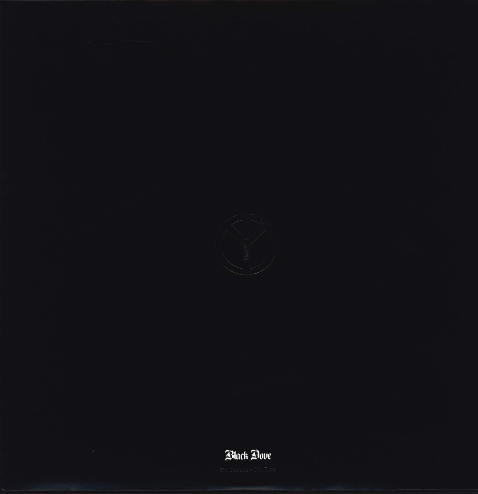 "Black Dove: No Future No Fate, 12"" Maxi Single (Vinyl)"