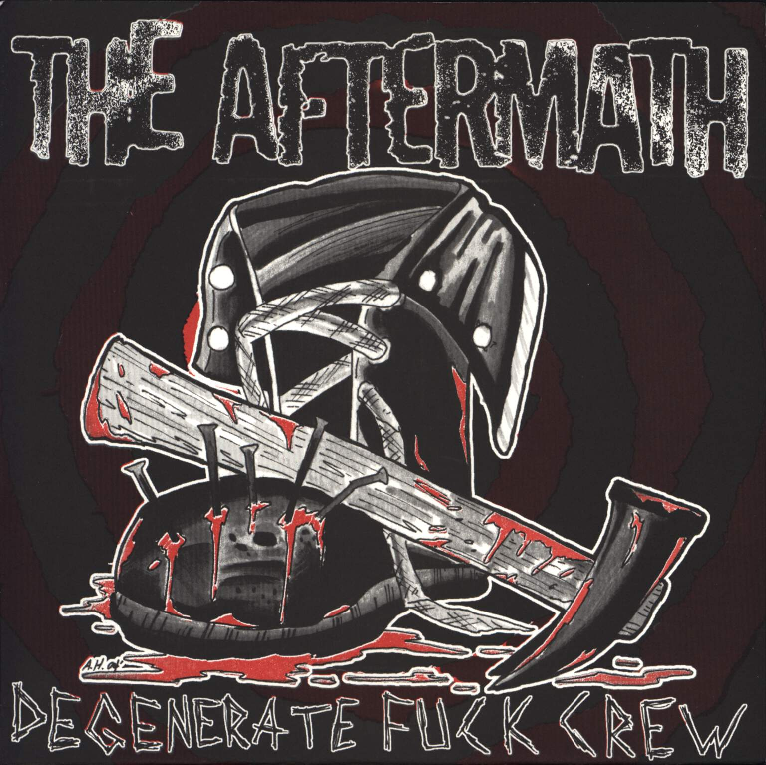 "The Aftermath: Degenerate Fuck Crew, 7"" Single (Vinyl)"