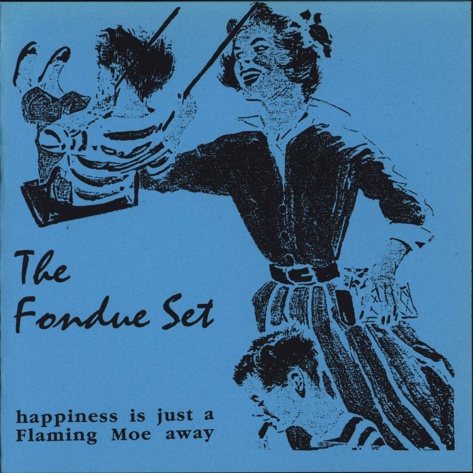 "Fondue Set: Happiness Is Just A Flaming Moe Away, 7"" Single (Vinyl)"