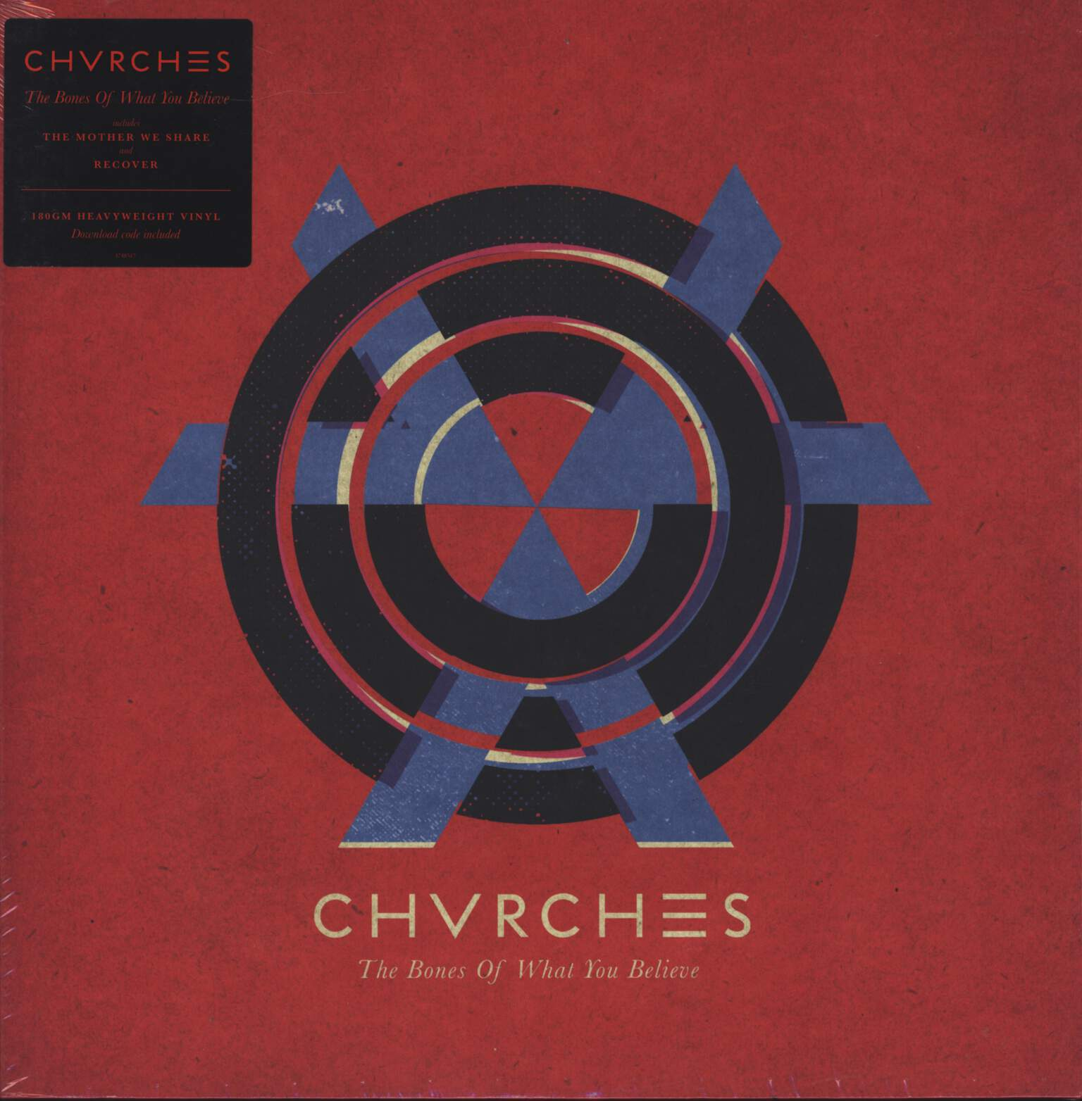 Chvrches: The Bones Of What You Believe, LP (Vinyl)