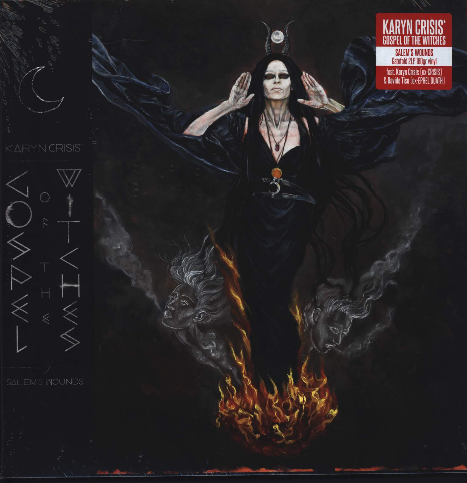 Karyn Crisis' Gospel Of The Witches: Salem's Wounds, LP (Vinyl)