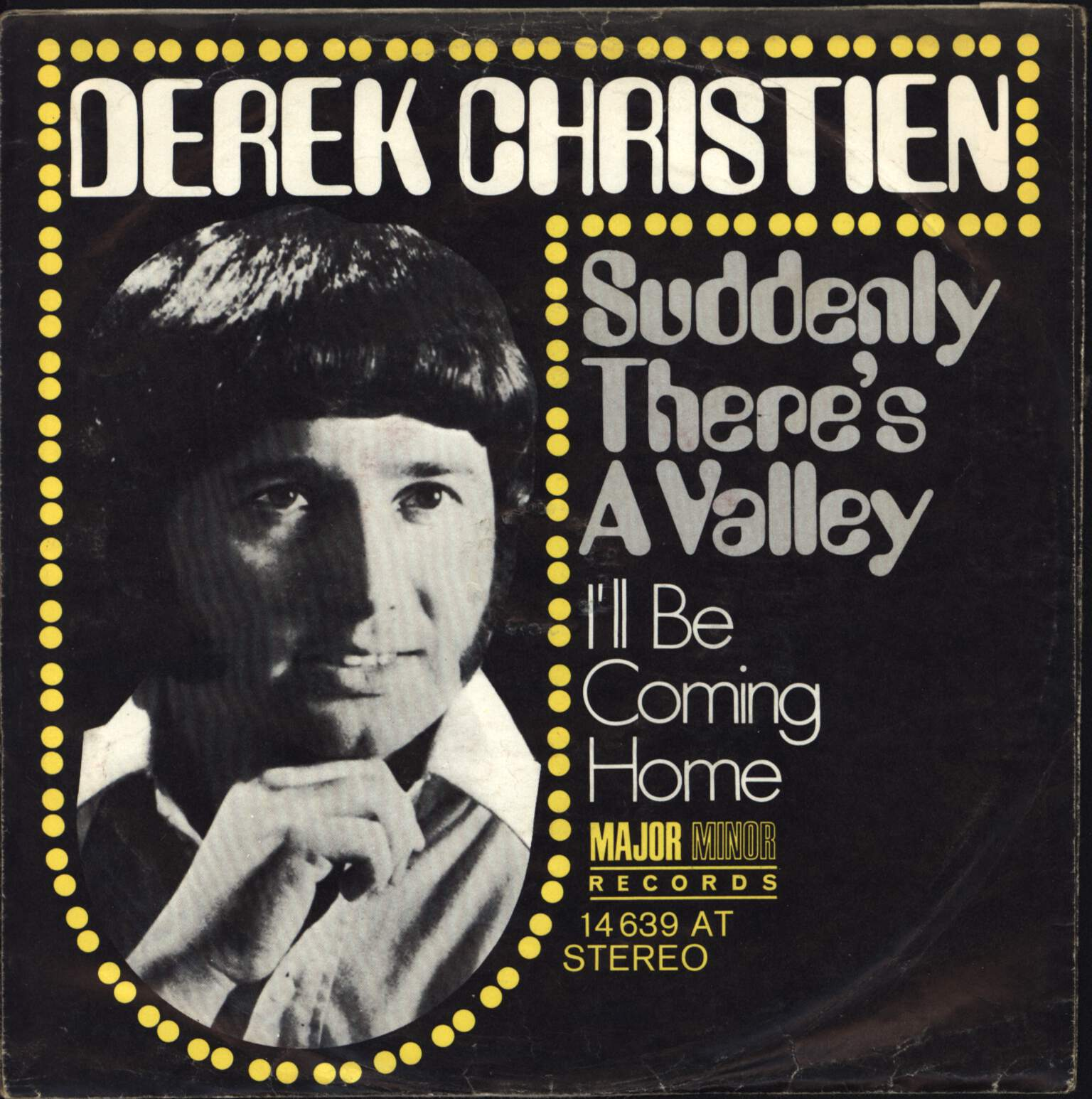 "Derek Christien: Suddenly There's A Valley, 7"" Single (Vinyl)"