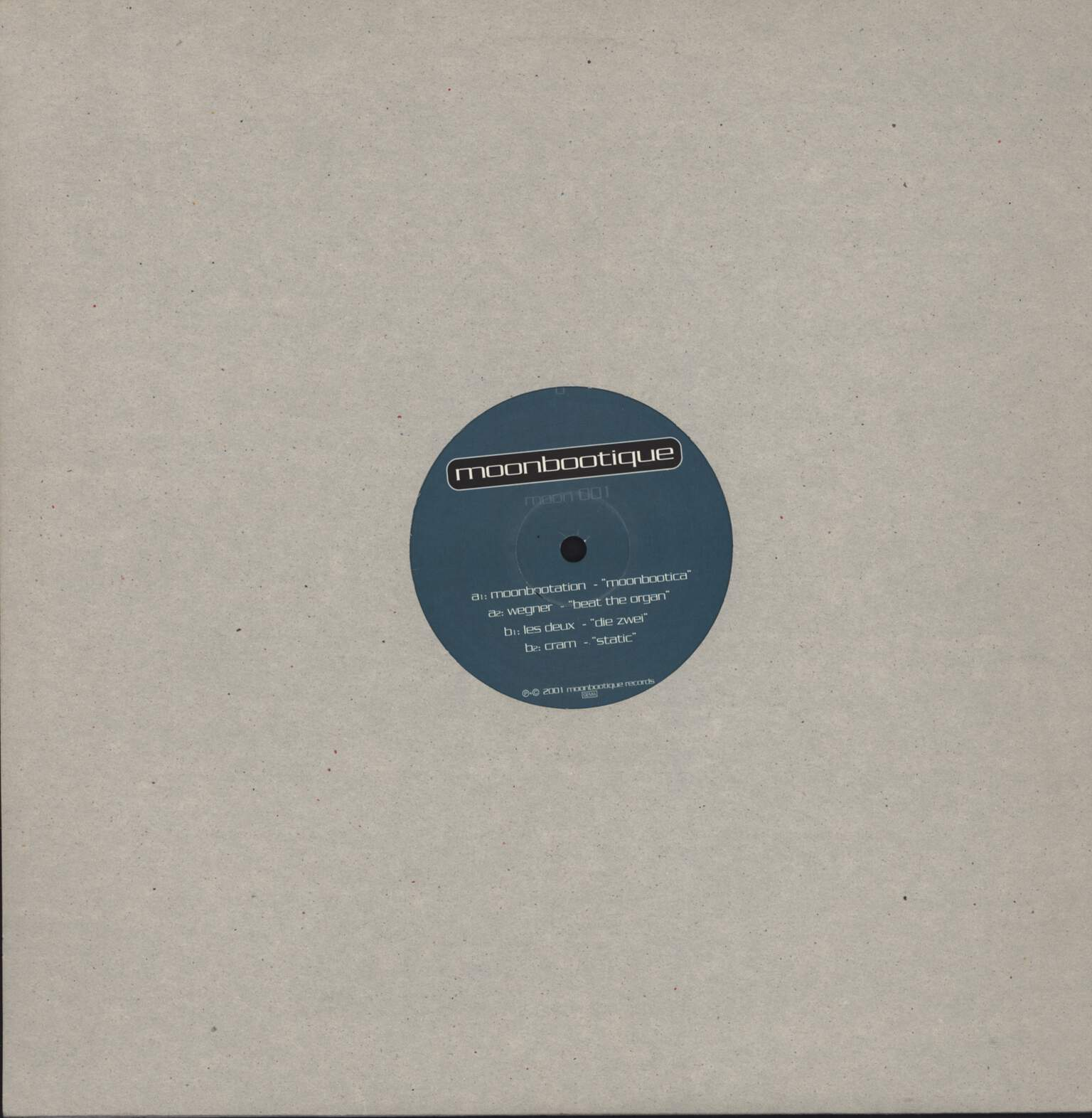 "Various: Moonbootique, 12"" Maxi Single (Vinyl)"