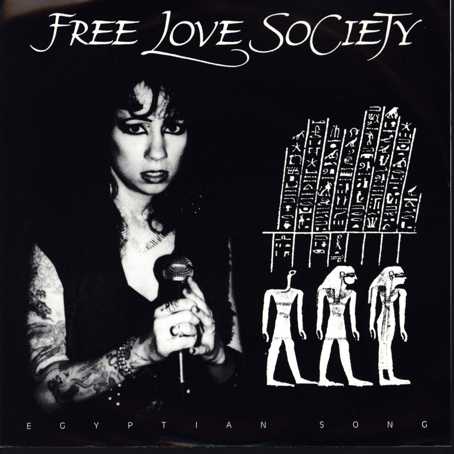 "Free Love Society: Egyptian Song, 7"" Single (Vinyl)"
