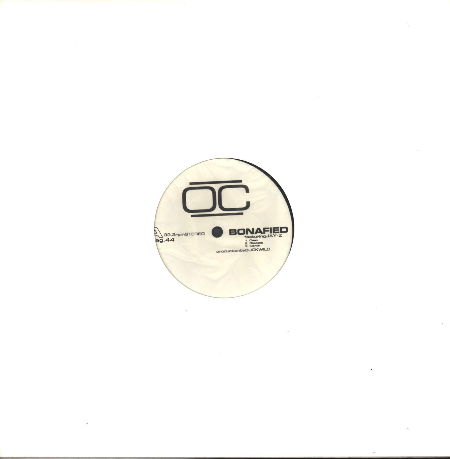 "O.C.: Bonafied / U-N-I, 12"" Maxi Single (Vinyl)"