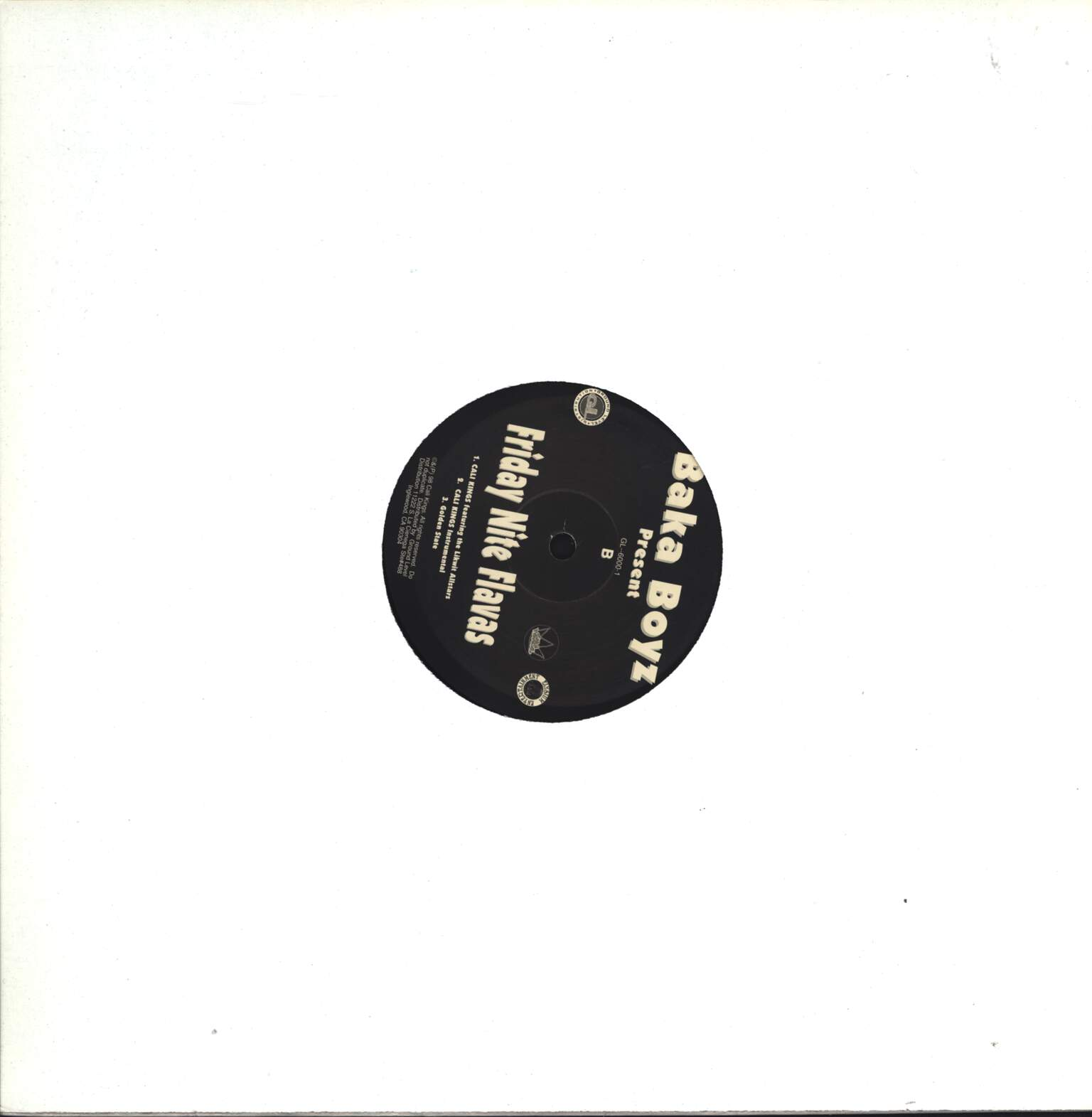 "Baka Boyz: Friday Nite Flavas, 12"" Maxi Single (Vinyl)"
