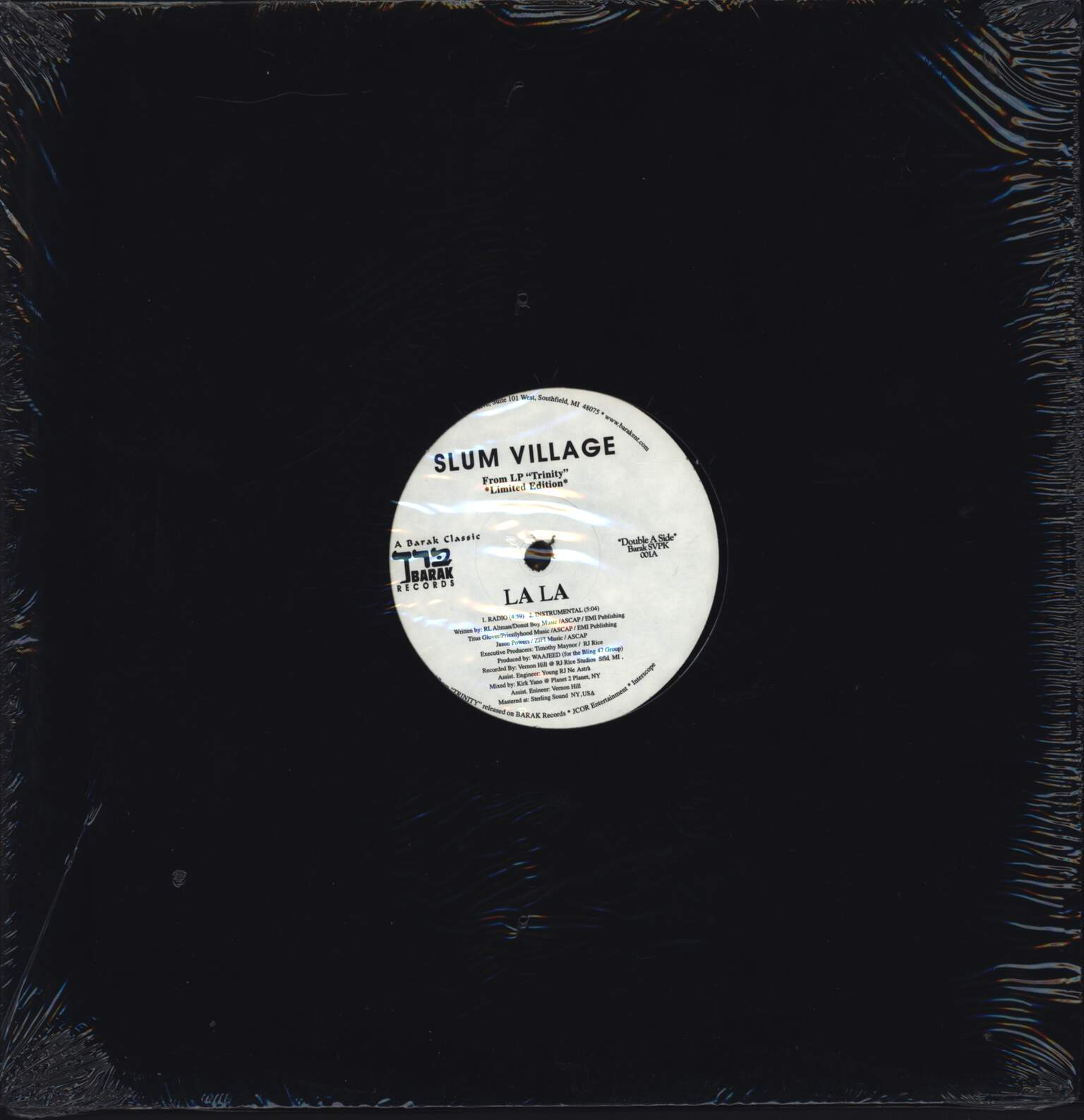 "Slum Village: La La / Club Banger, 12"" Maxi Single (Vinyl)"