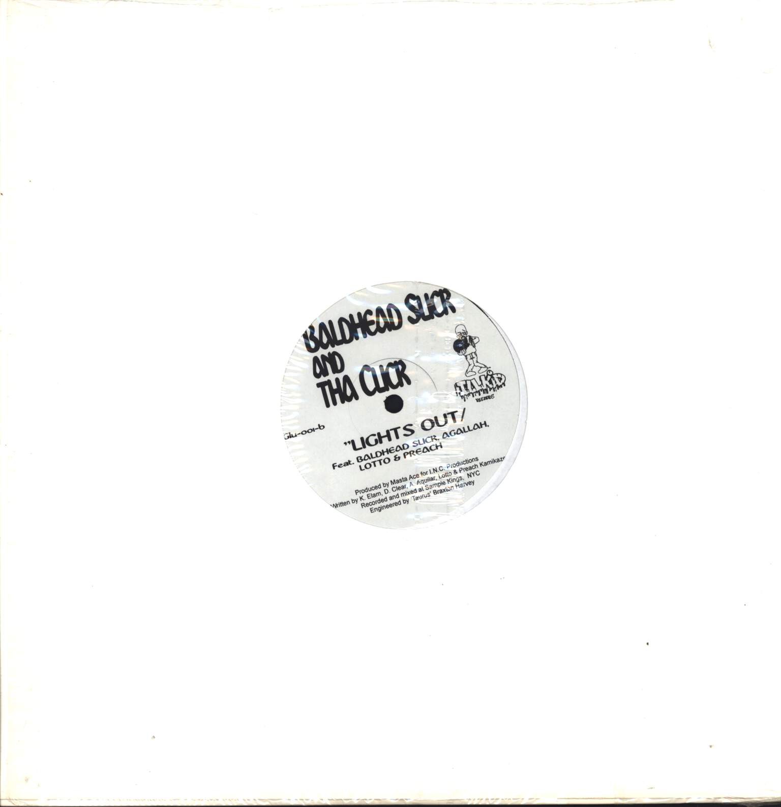 "Baldhead Slick & Da Click: Damage You Kidz / Lights Out, 12"" Maxi Single (Vinyl)"