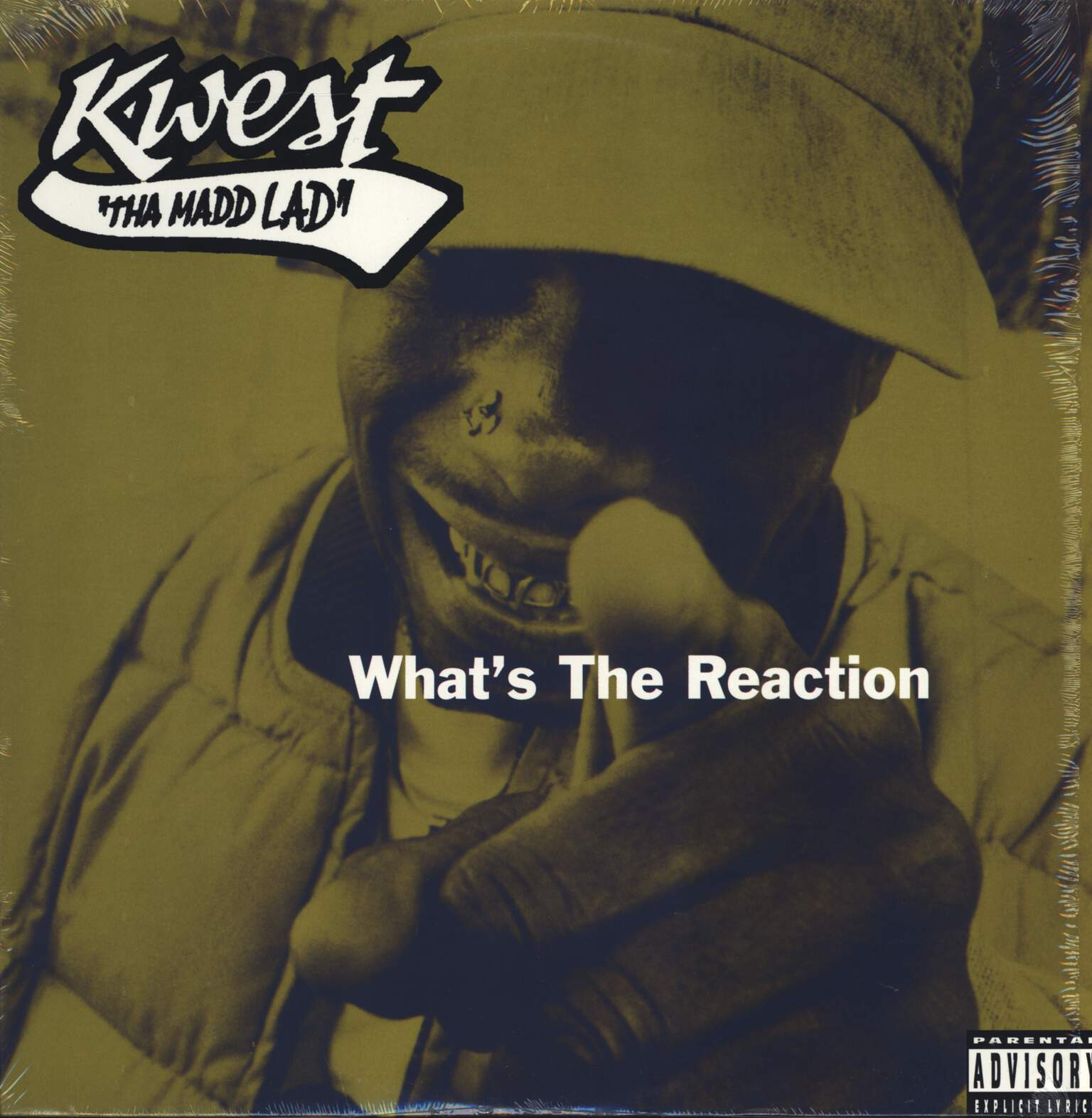 "Kwest Tha Madd Lad: What's The Reaction, 12"" Maxi Single (Vinyl)"