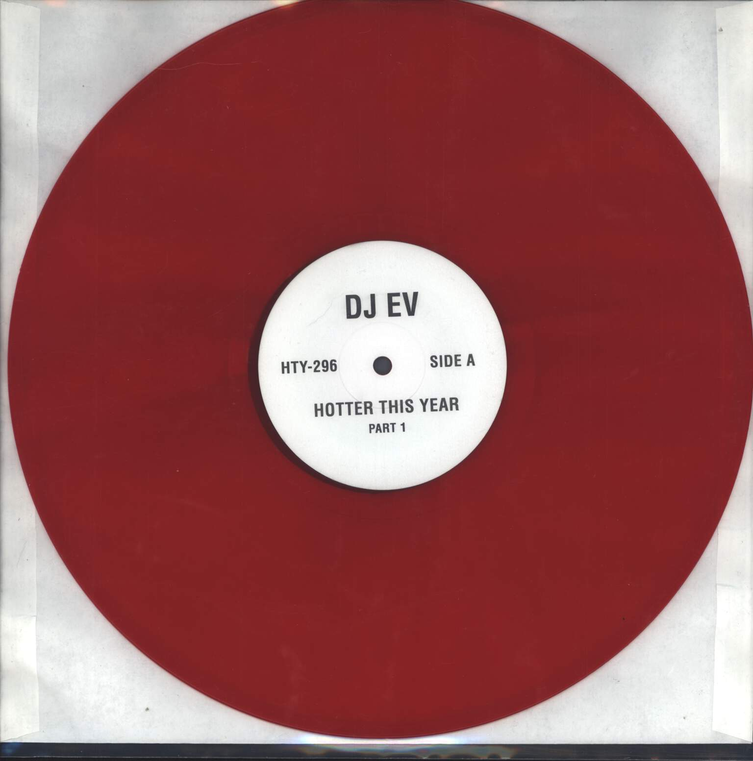 "DJ EV: Hotter This Year, 12"" Maxi Single (Vinyl)"