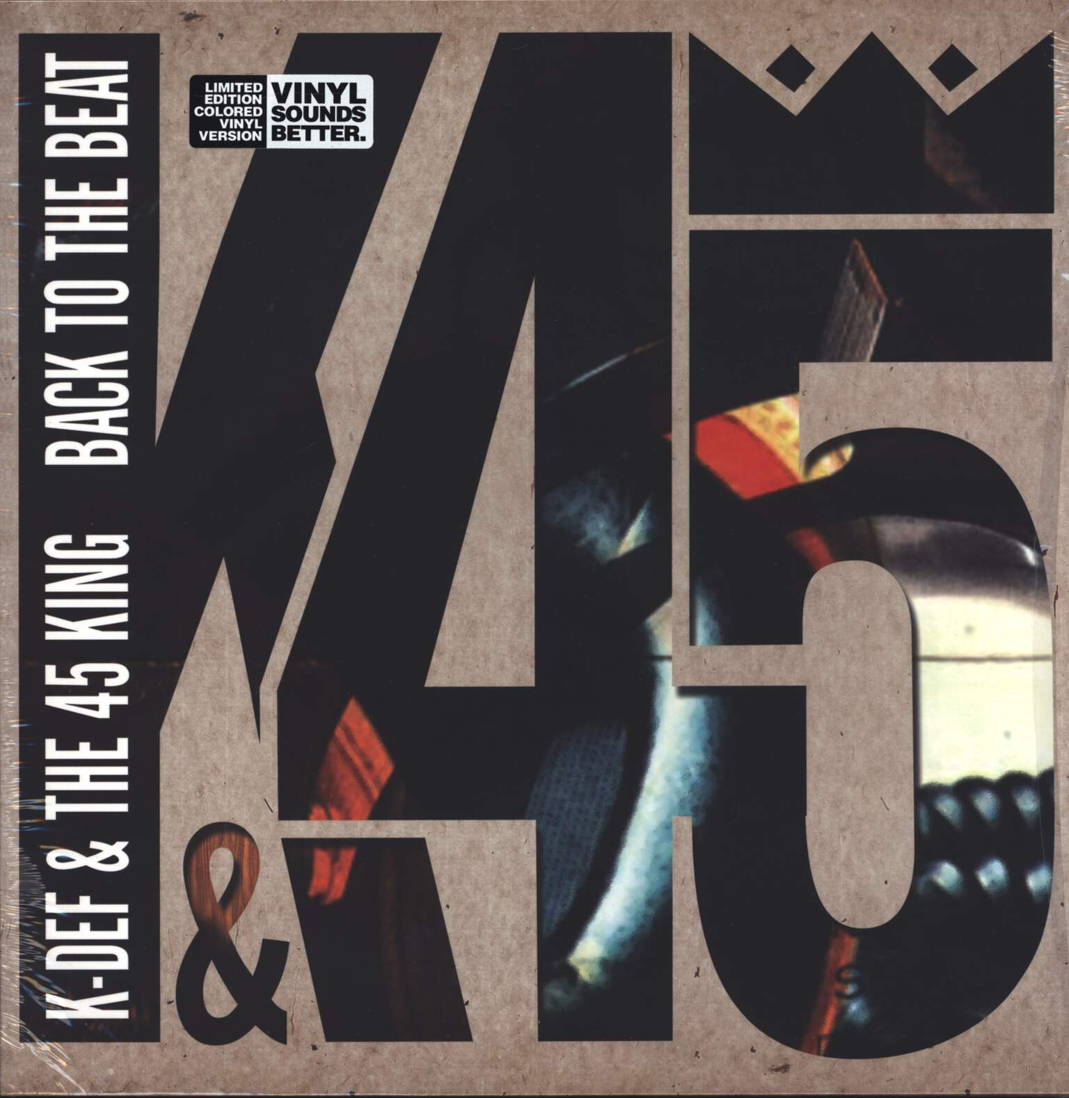 K-Def: Back To The Beat, LP (Vinyl)