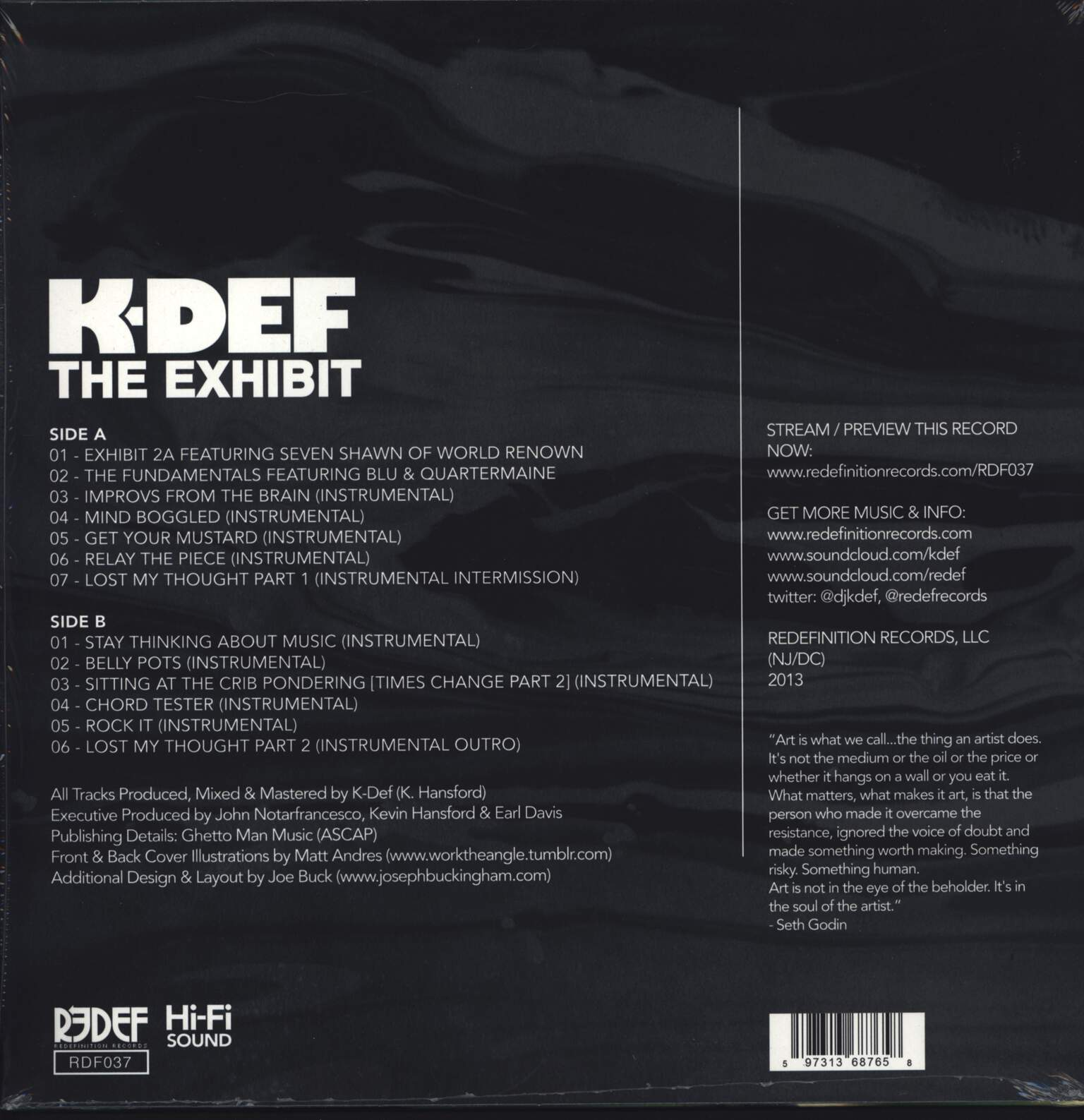 K-Def: The Exhibit, LP (Vinyl)