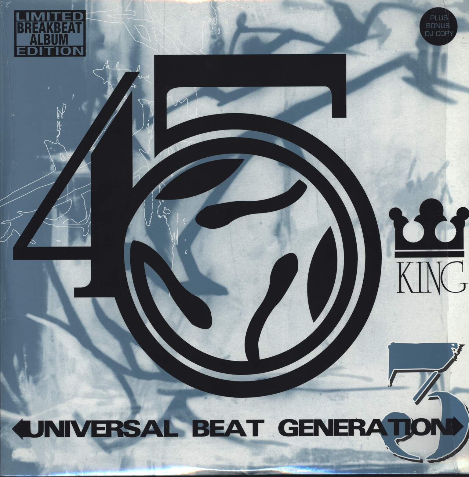 The 45 King: Universal Beat Generation 3, LP (Vinyl)