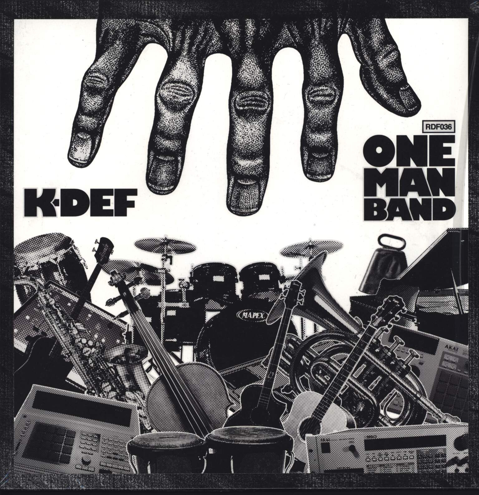 K-Def: One Man Band, LP (Vinyl)