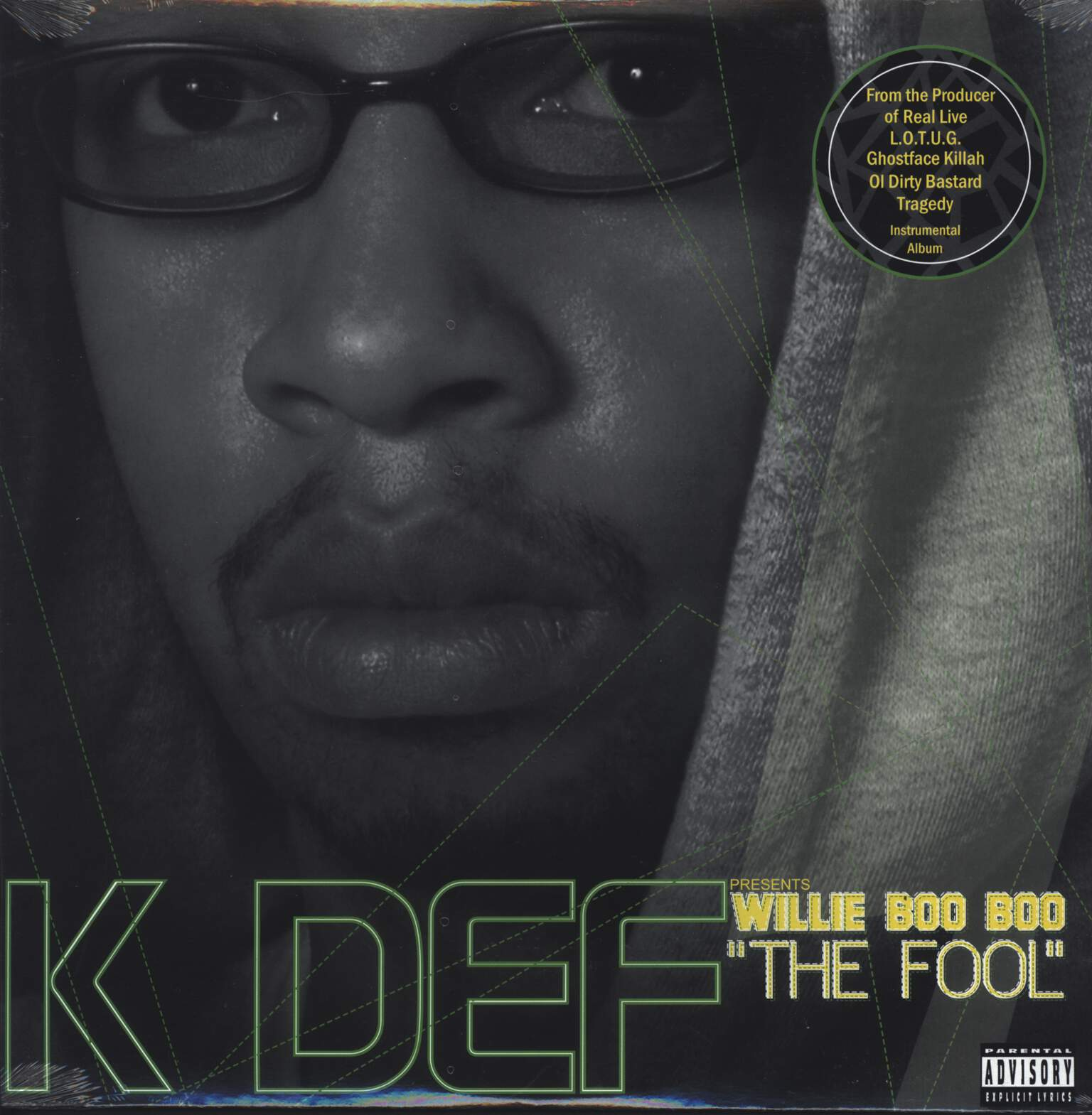 "K-Def: Willie Boo Boo ""The Fool"", LP (Vinyl)"