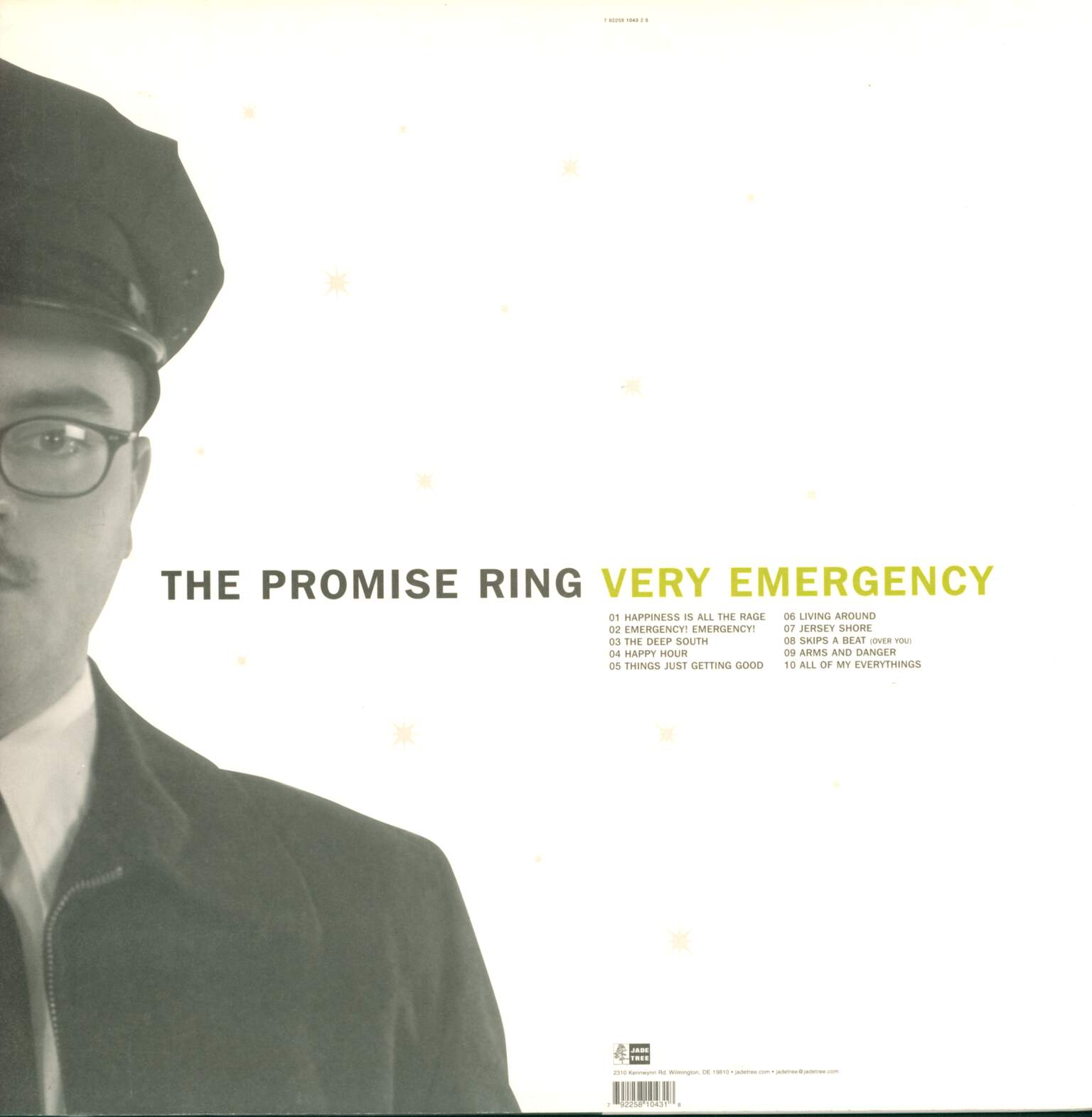The Promise Ring: Very Emergency, LP (Vinyl)