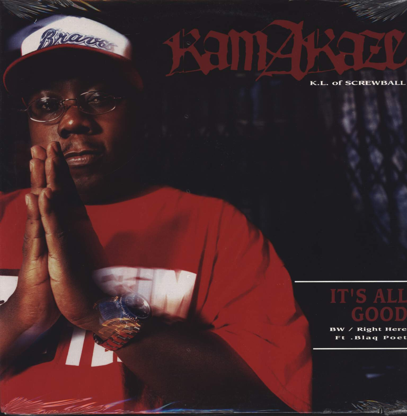 "Kamakazee: It's All Good / Right Here, 12"" Maxi Single (Vinyl)"