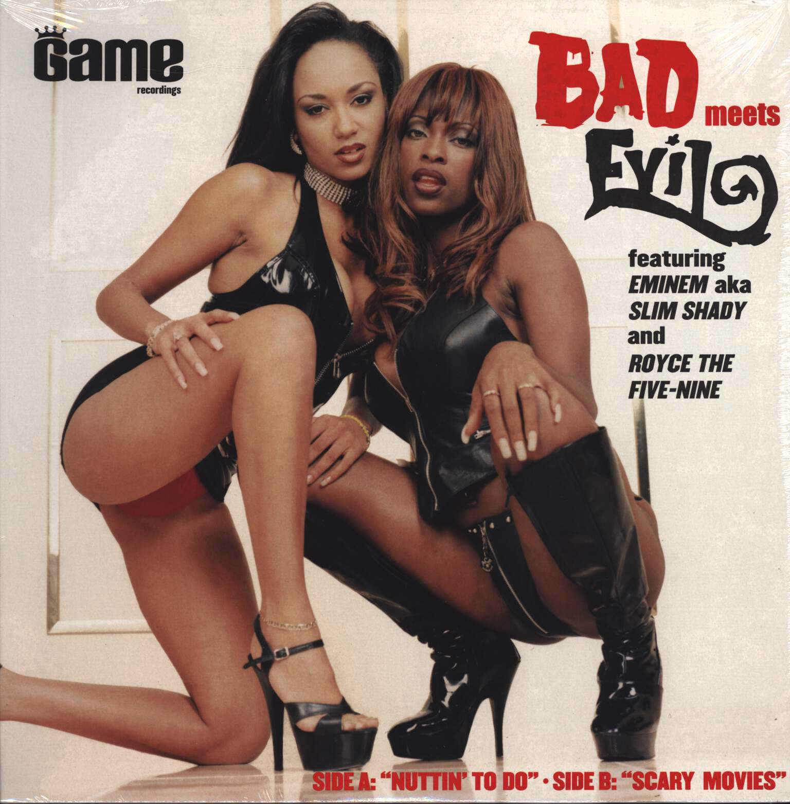 "Bad Meets Evil: Nuttin' To Do / Scary Movies, 12"" Maxi Single (Vinyl)"
