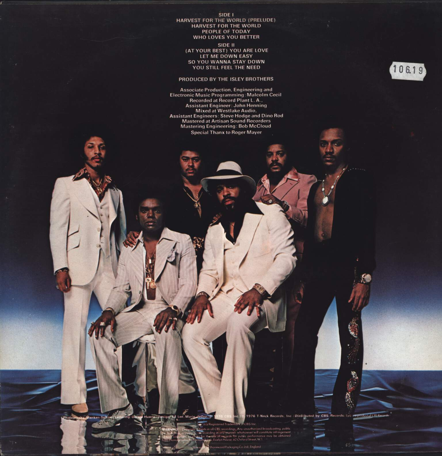 The Isley Brothers: Harvest For The World, LP (Vinyl)