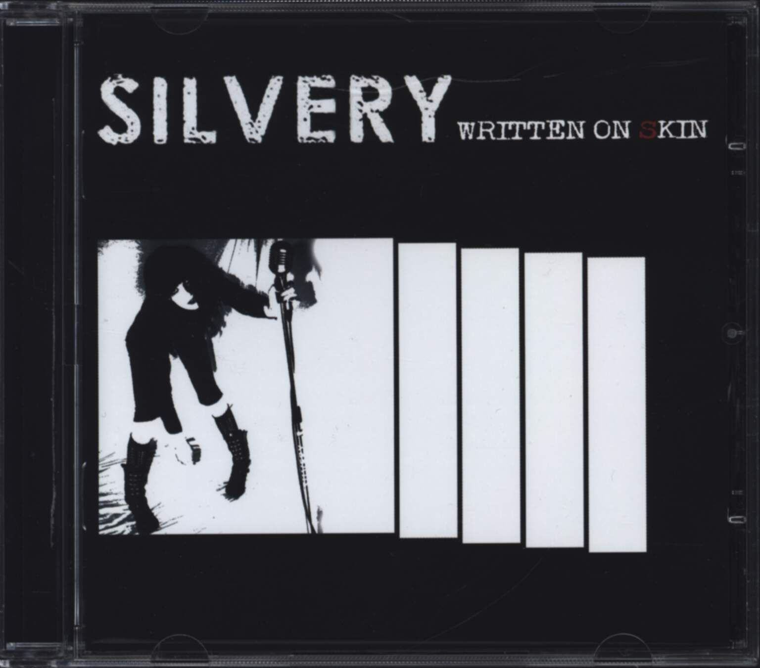 Silvery: Written On Skin, CD