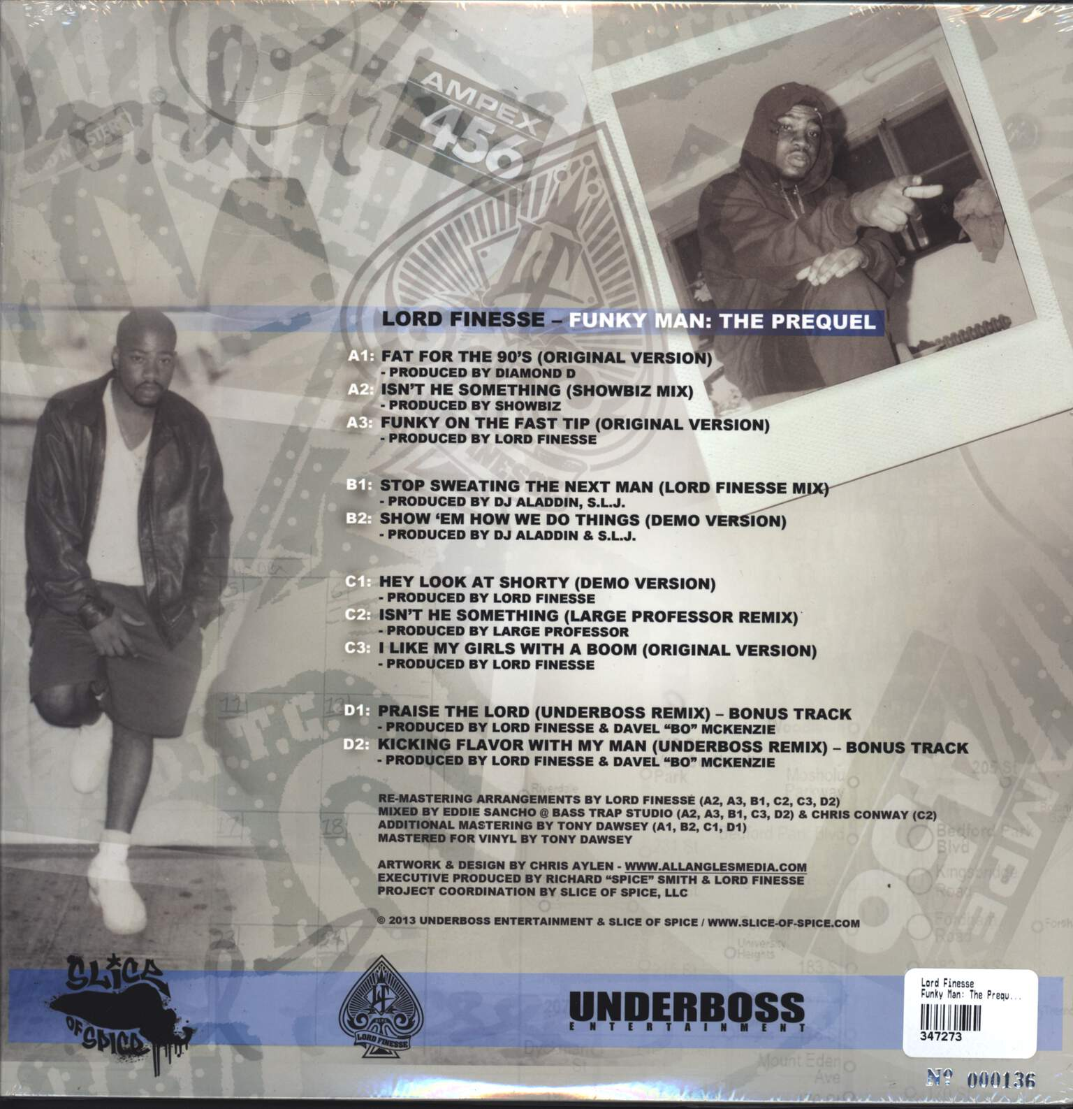 Lord Finesse: Funky Man: The Prequel, LP (Vinyl)