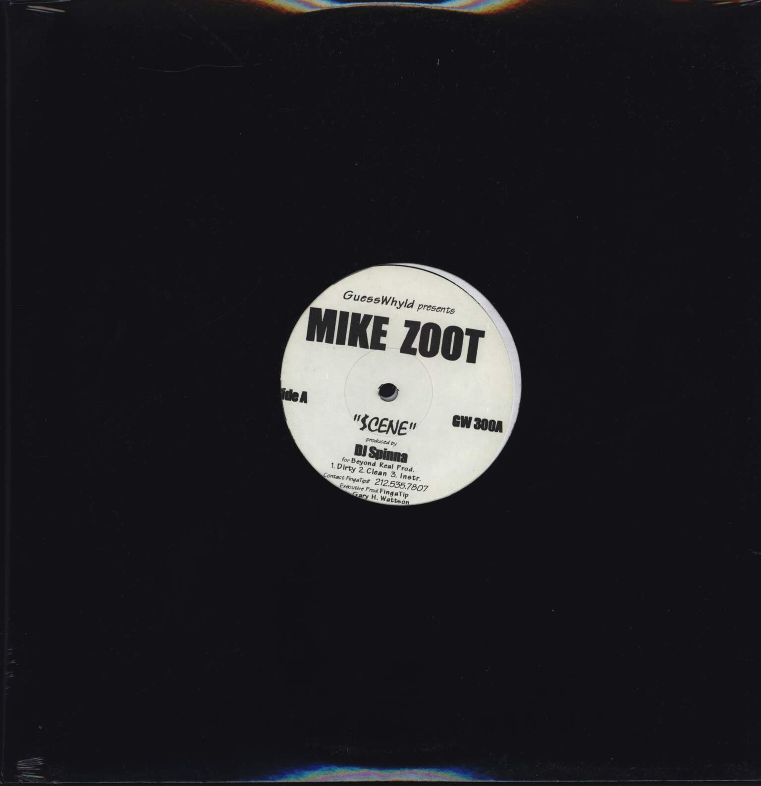 "Mike Zoot: Untitled, 12"" Maxi Single (Vinyl)"