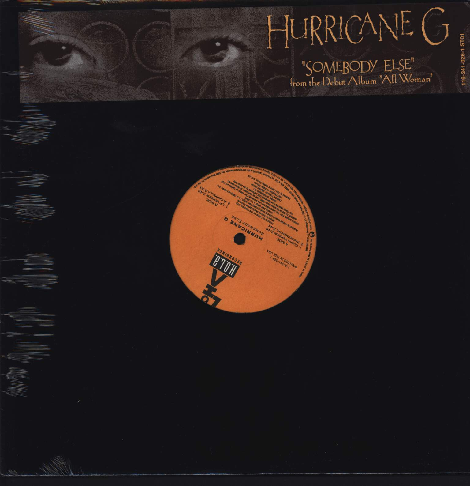 "Hurricane G.: Somebody Else, 12"" Maxi Single (Vinyl)"