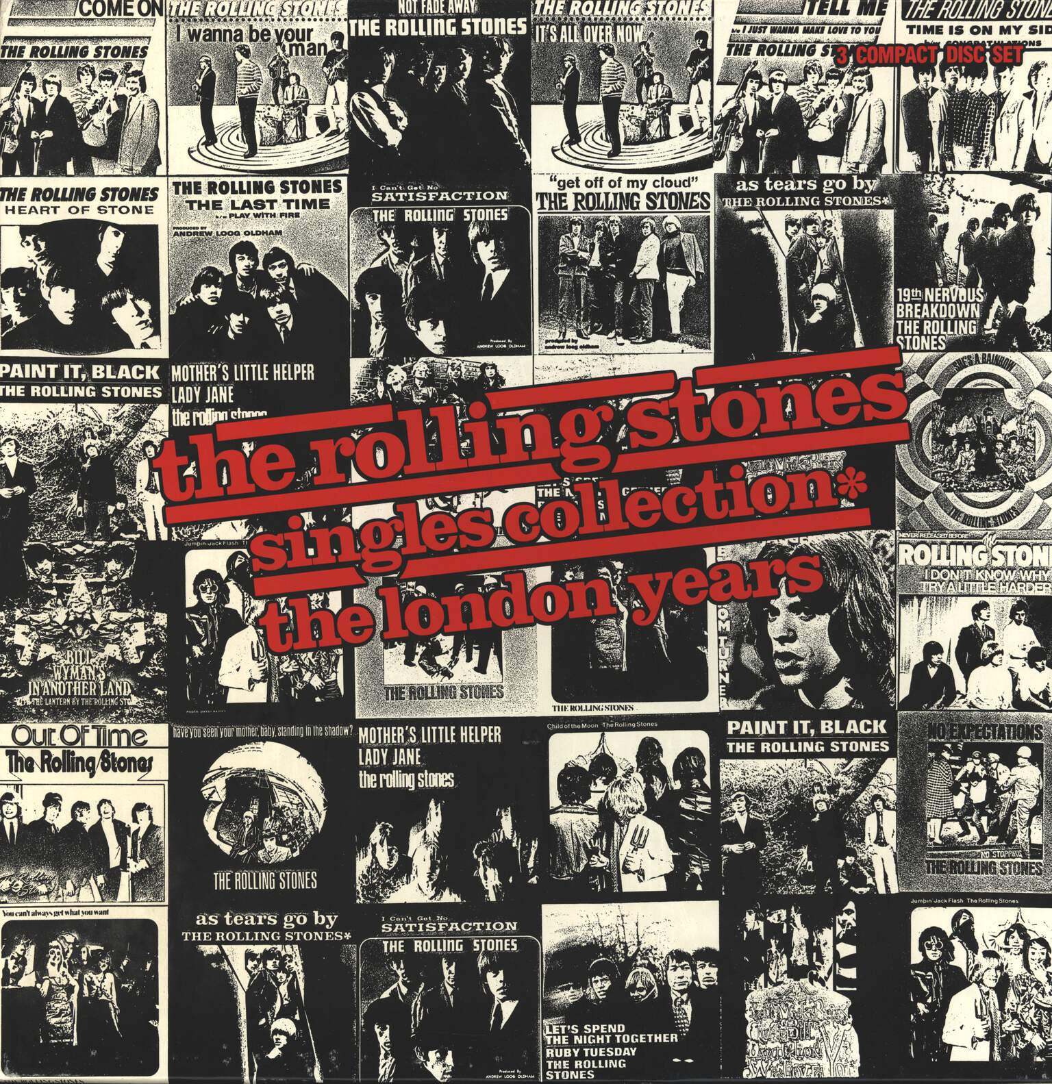 The Rolling Stones: Singles Collection - The London Years, CD
