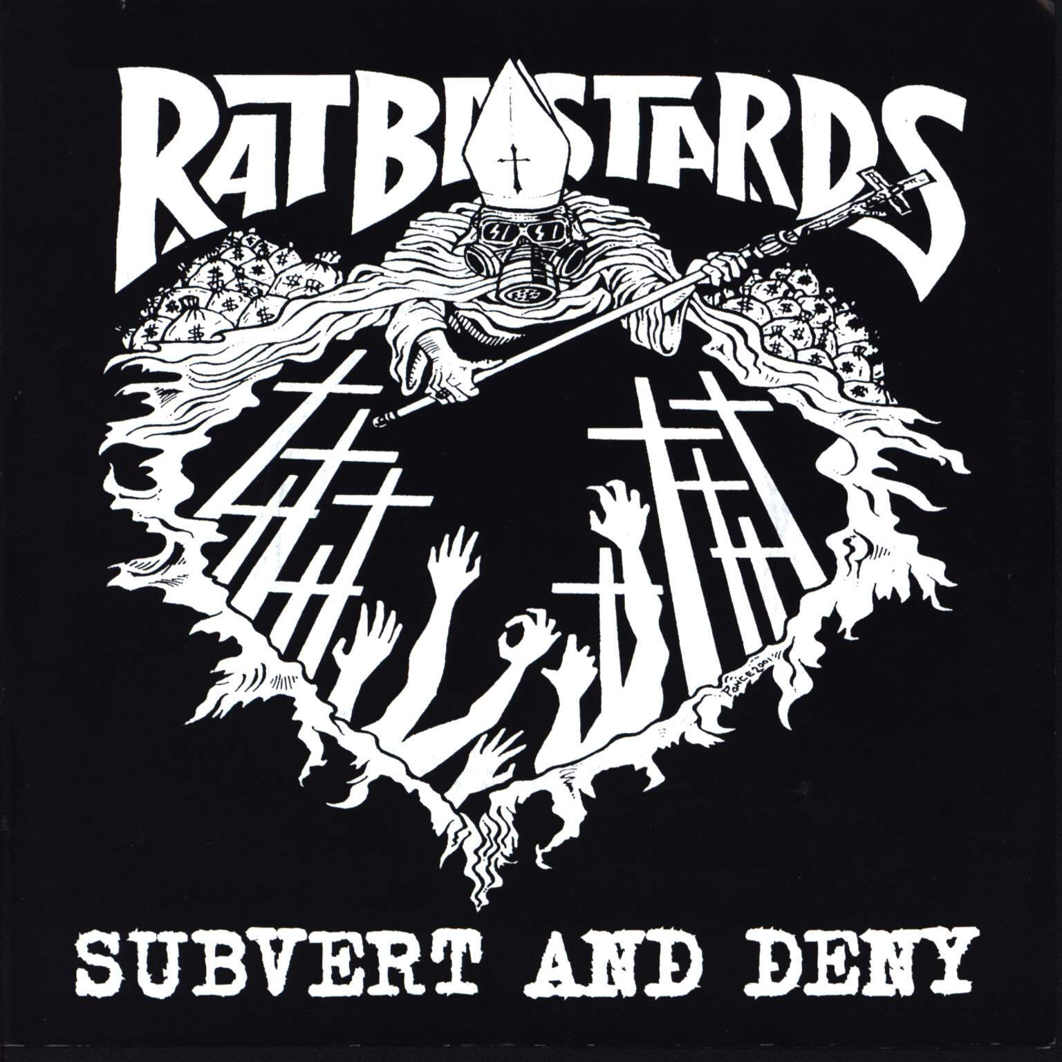 "Rat Bastards: Subvert And Deny, 7"" Single (Vinyl)"