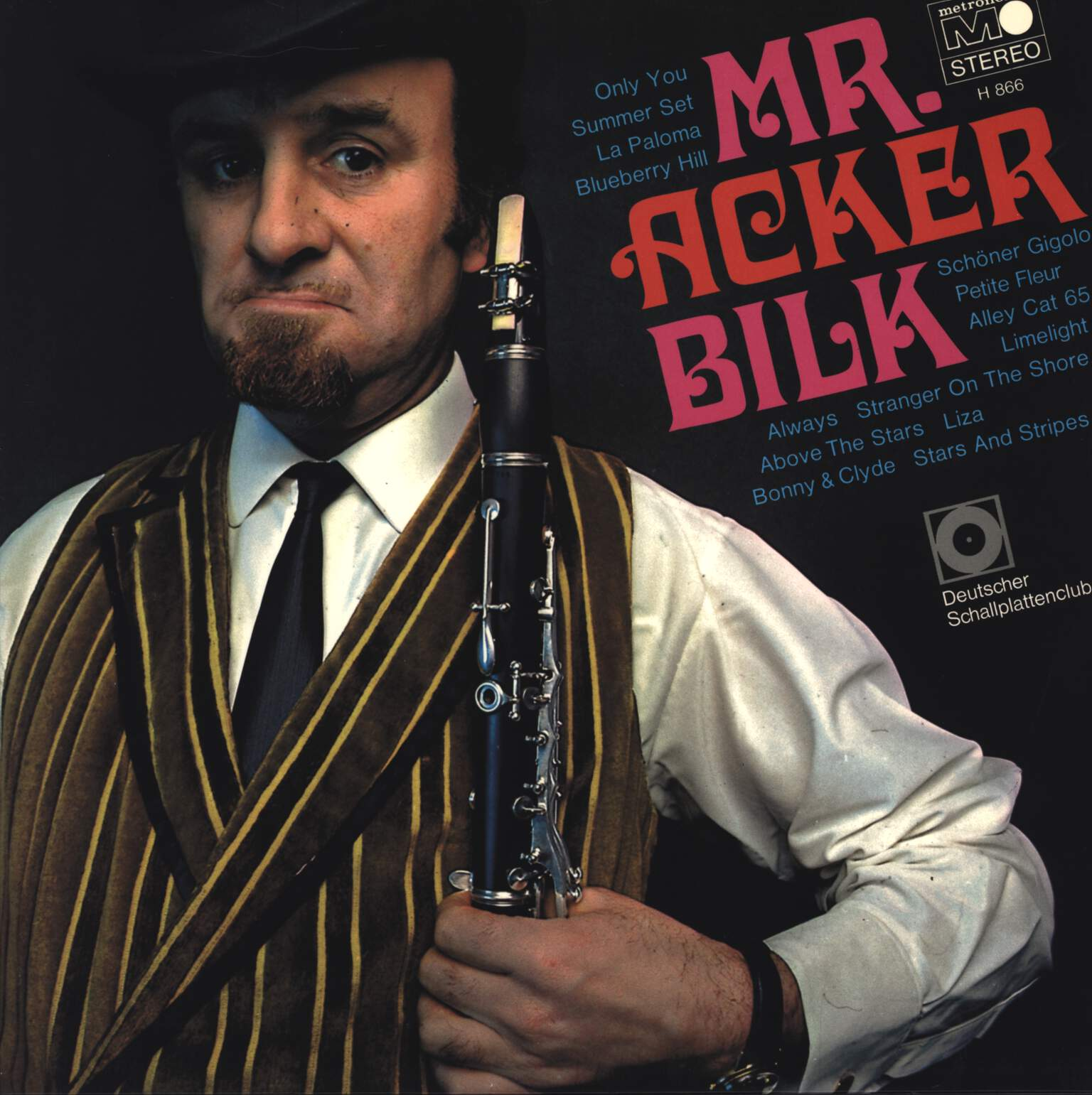 Mr. Acker Bilk: Mr. Acker Bilk, LP (Vinyl)