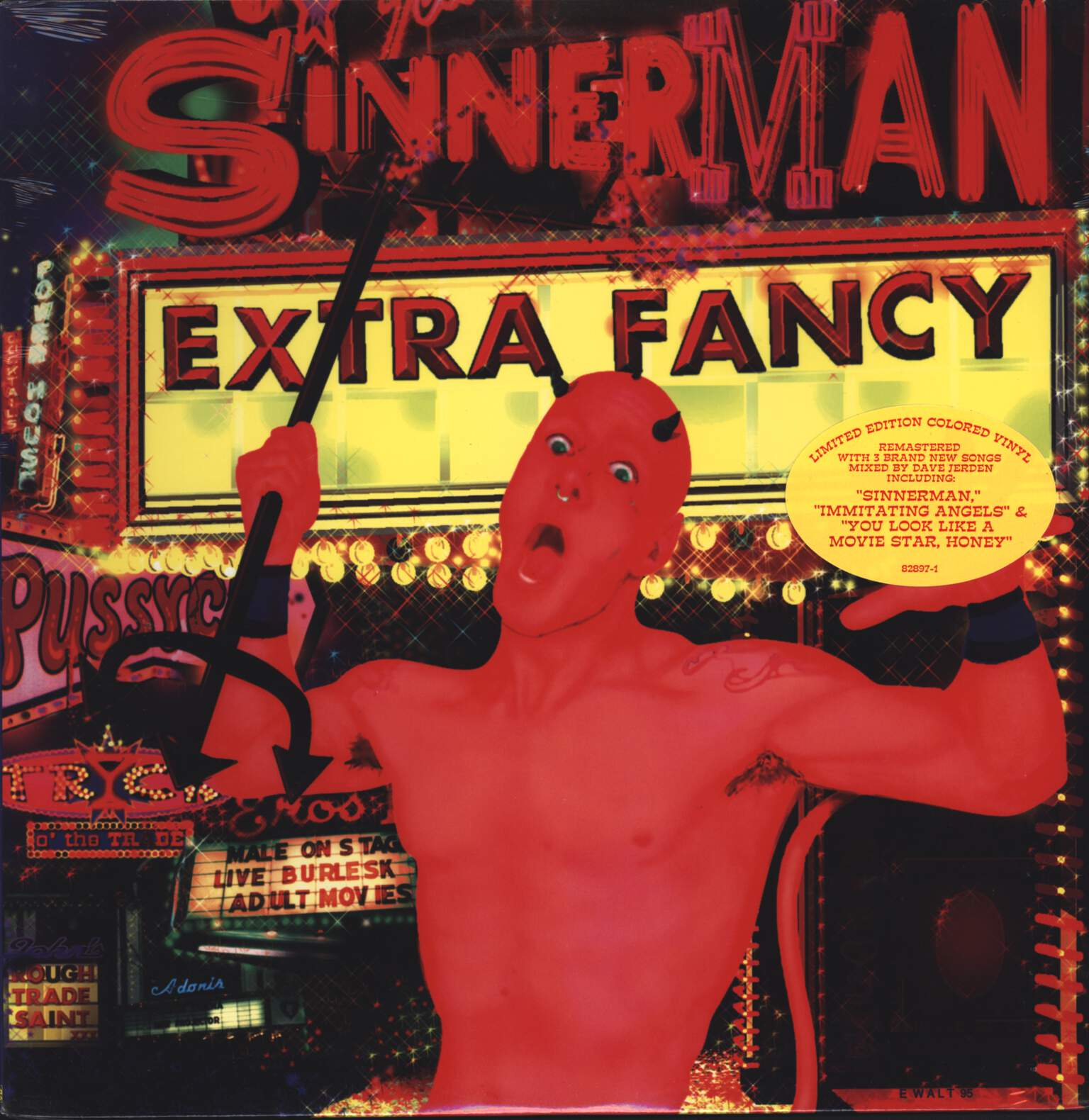 Extra Fancy: Sinnerman, LP (Vinyl)
