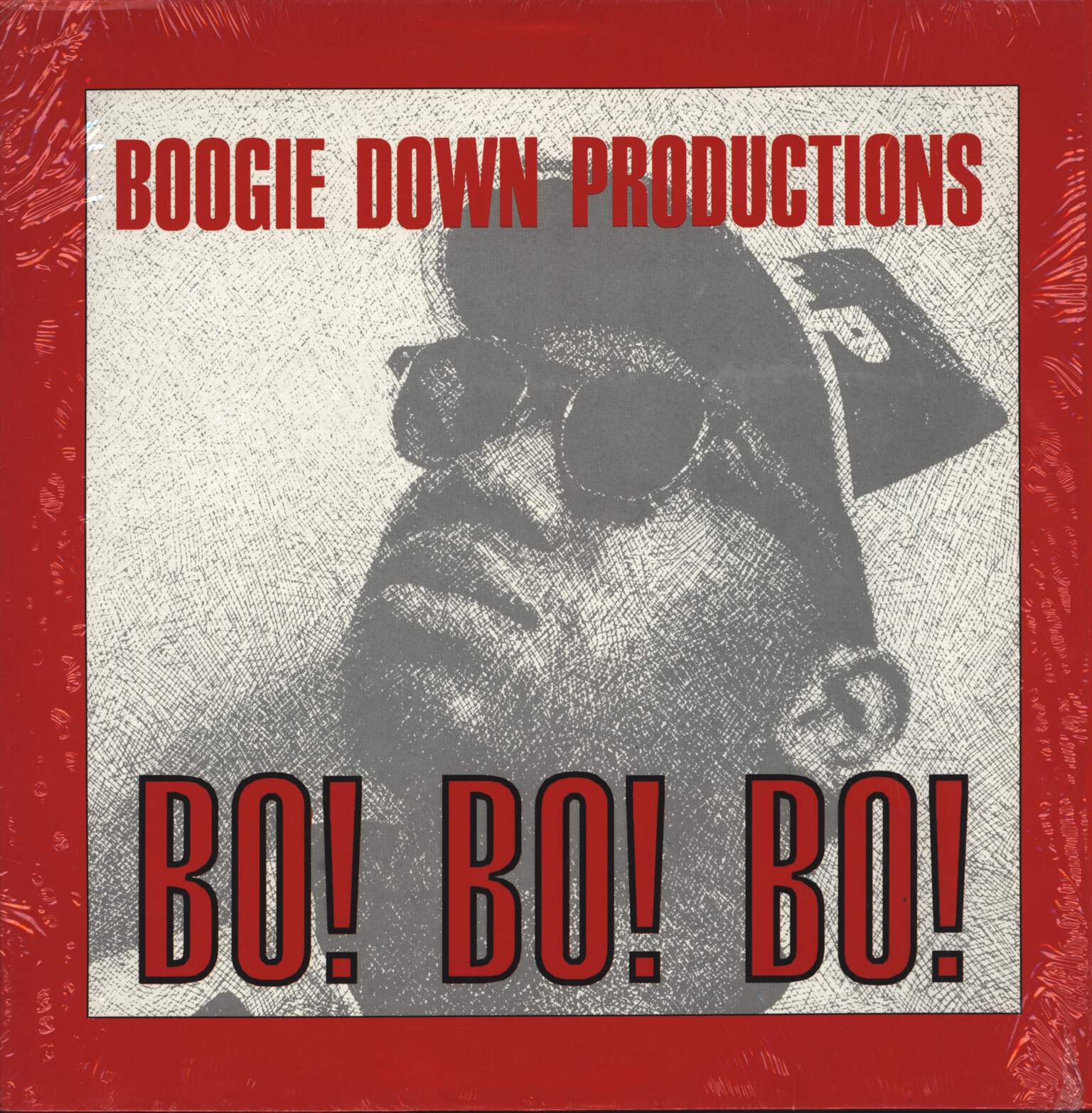 "Boogie Down Productions: Bo! Bo! Bo!, 12"" Maxi Single (Vinyl)"