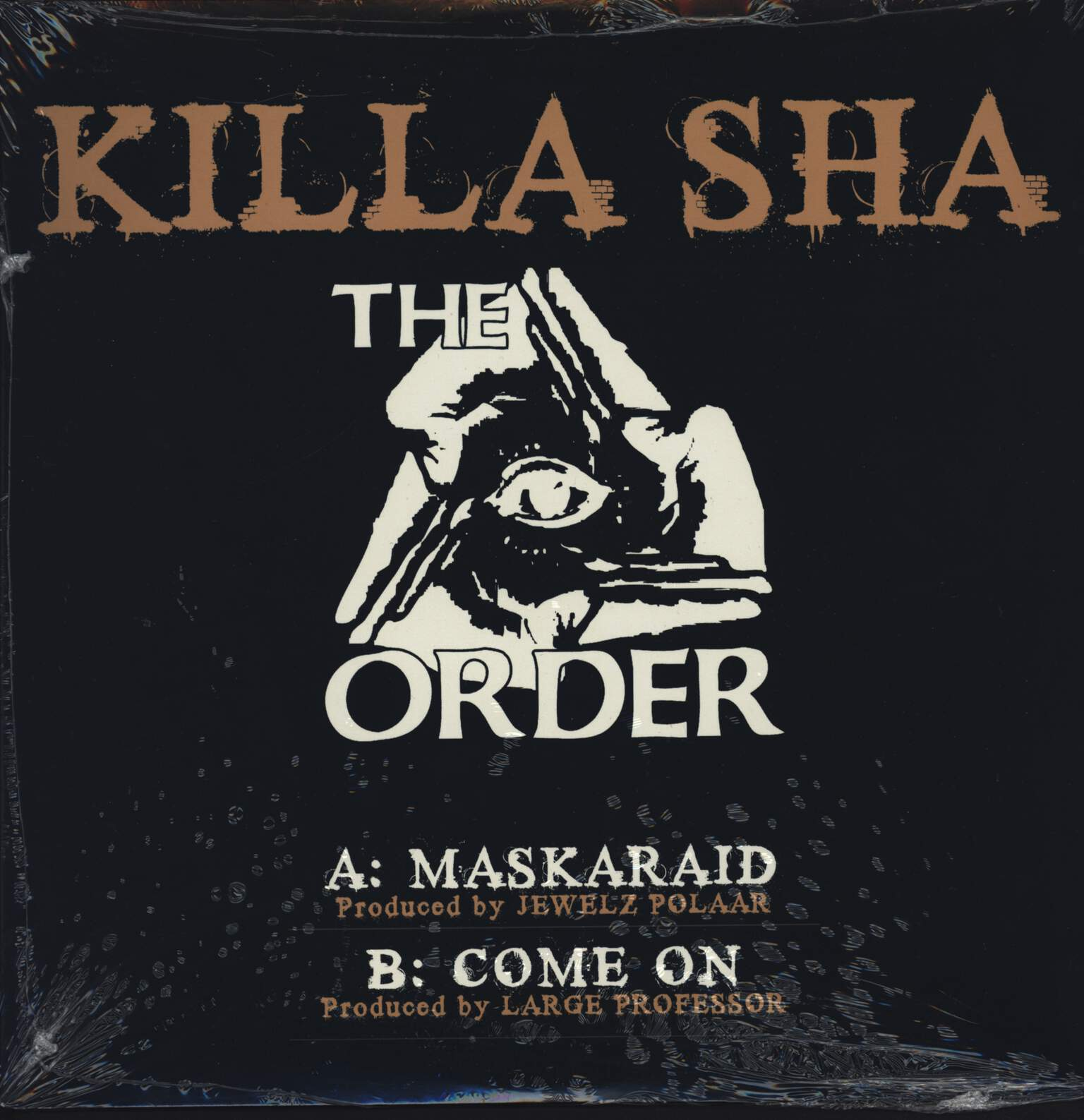 "Killa Sha: Maskaraid, 12"" Maxi Single (Vinyl)"