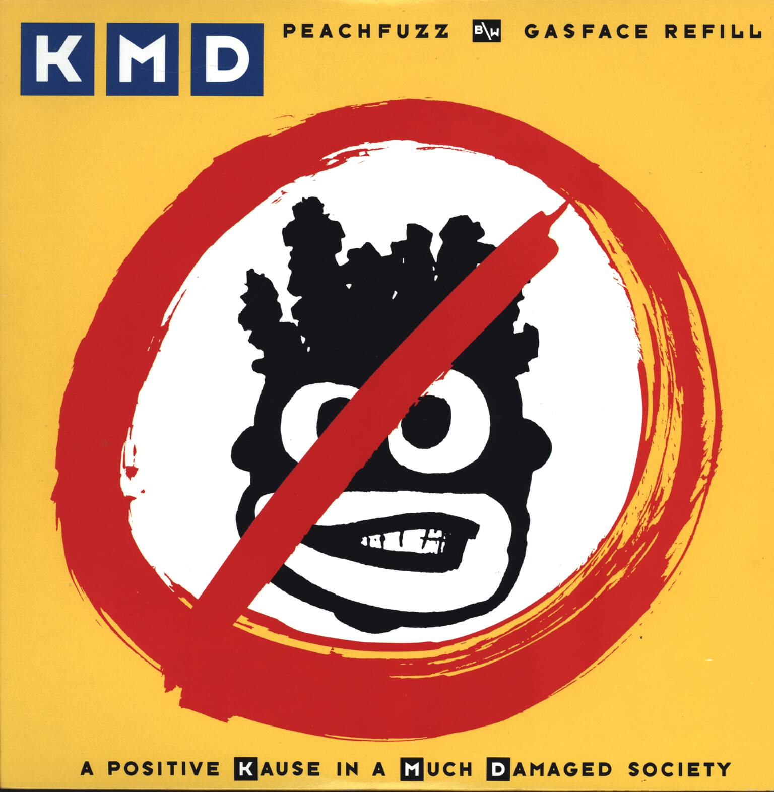"Kmd: Peachfuzz / Gasface Refill, 12"" Maxi Single (Vinyl)"