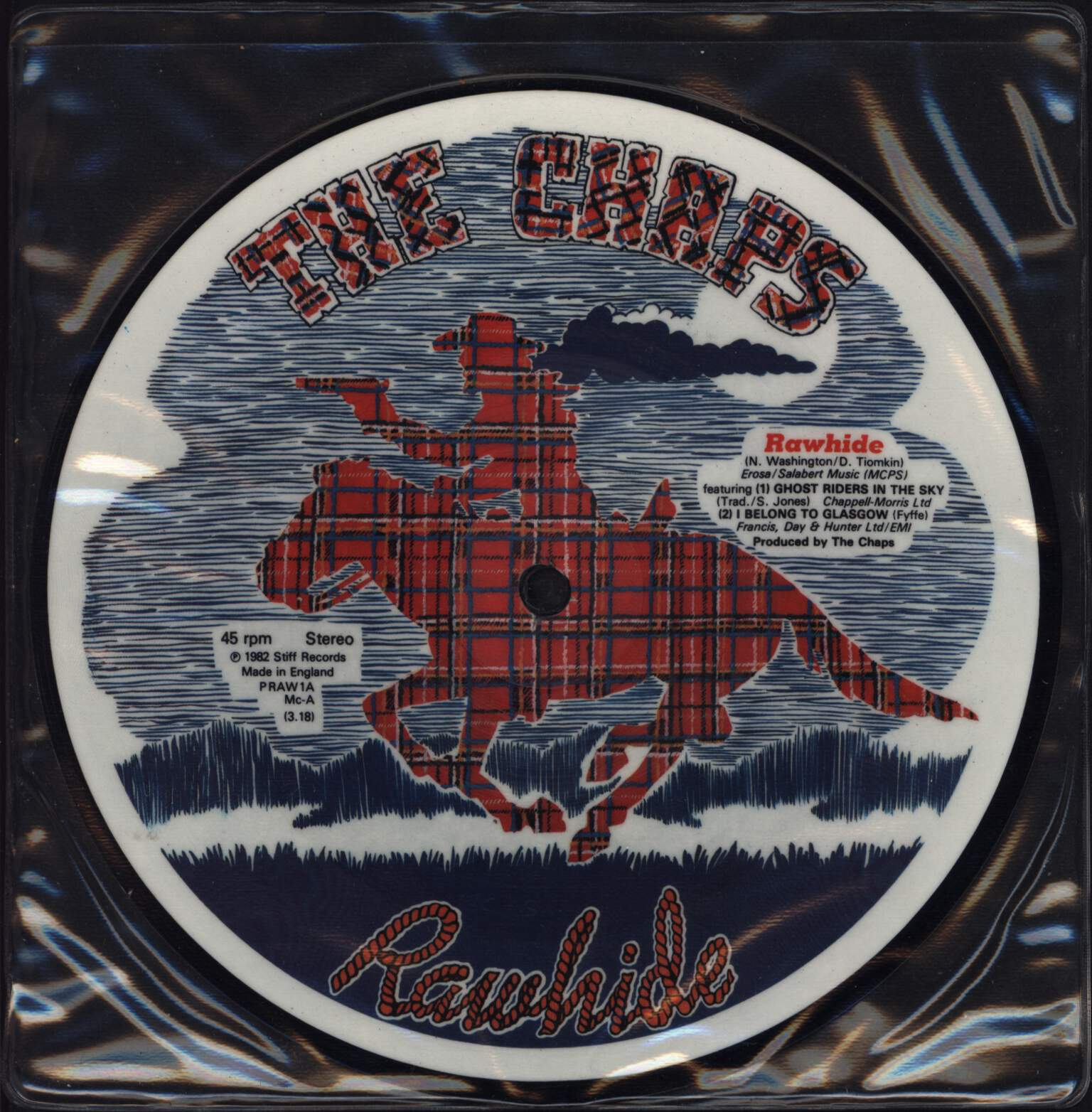 "The Chaps: Rawhide, 7"" Single (Vinyl)"