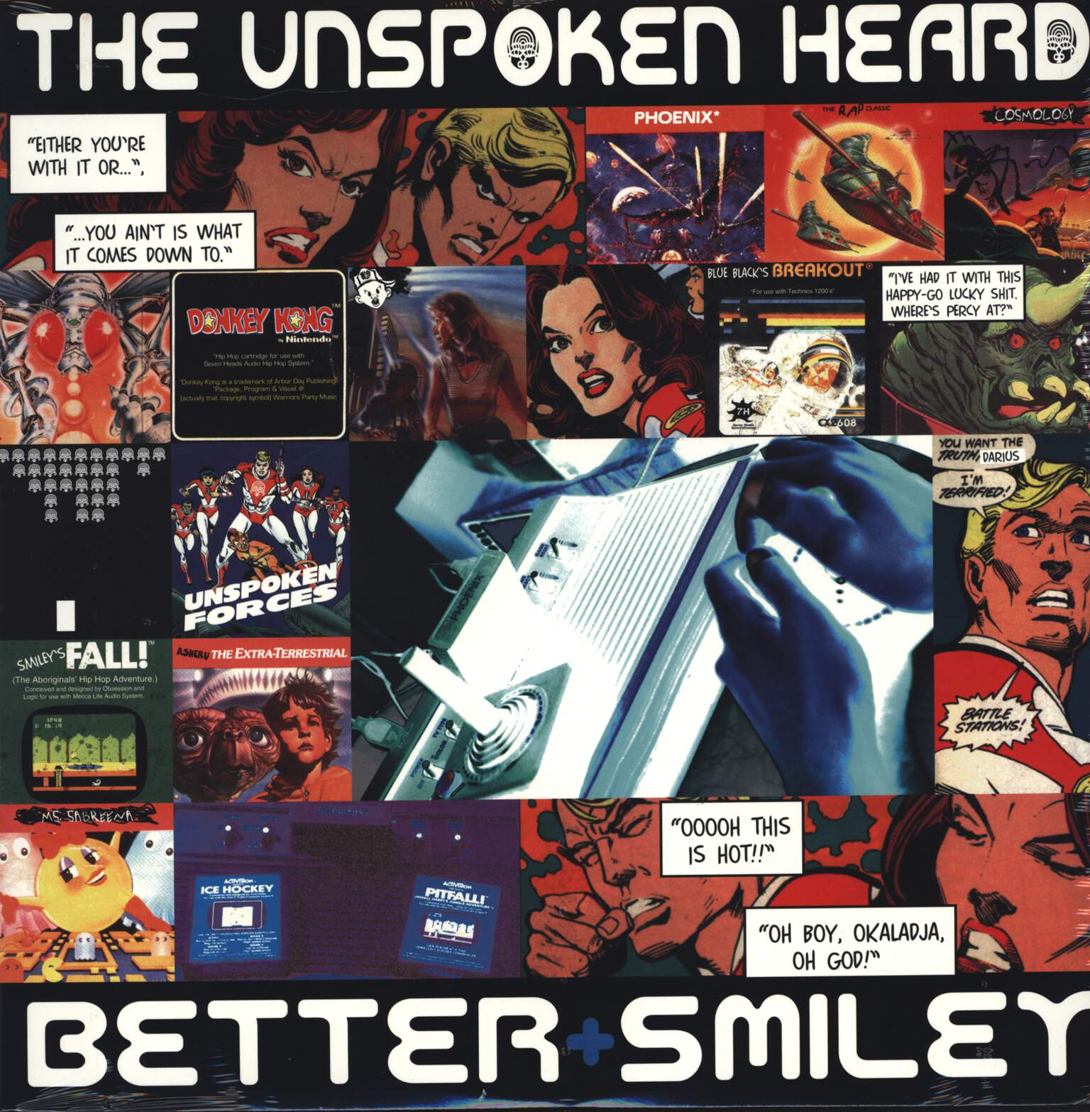 "The Unspoken Heard: Better / Smiley, 12"" Maxi Single (Vinyl)"