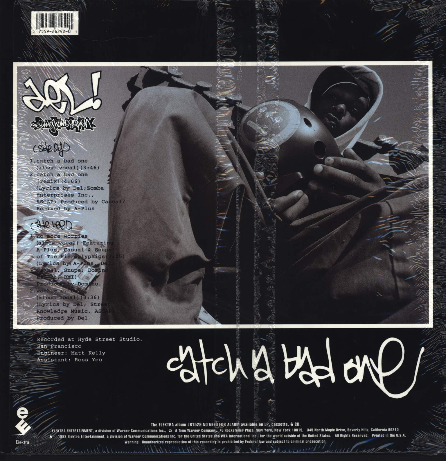 "Del Tha Funkee Homosapien: Catch A Bad One, 12"" Maxi Single (Vinyl)"